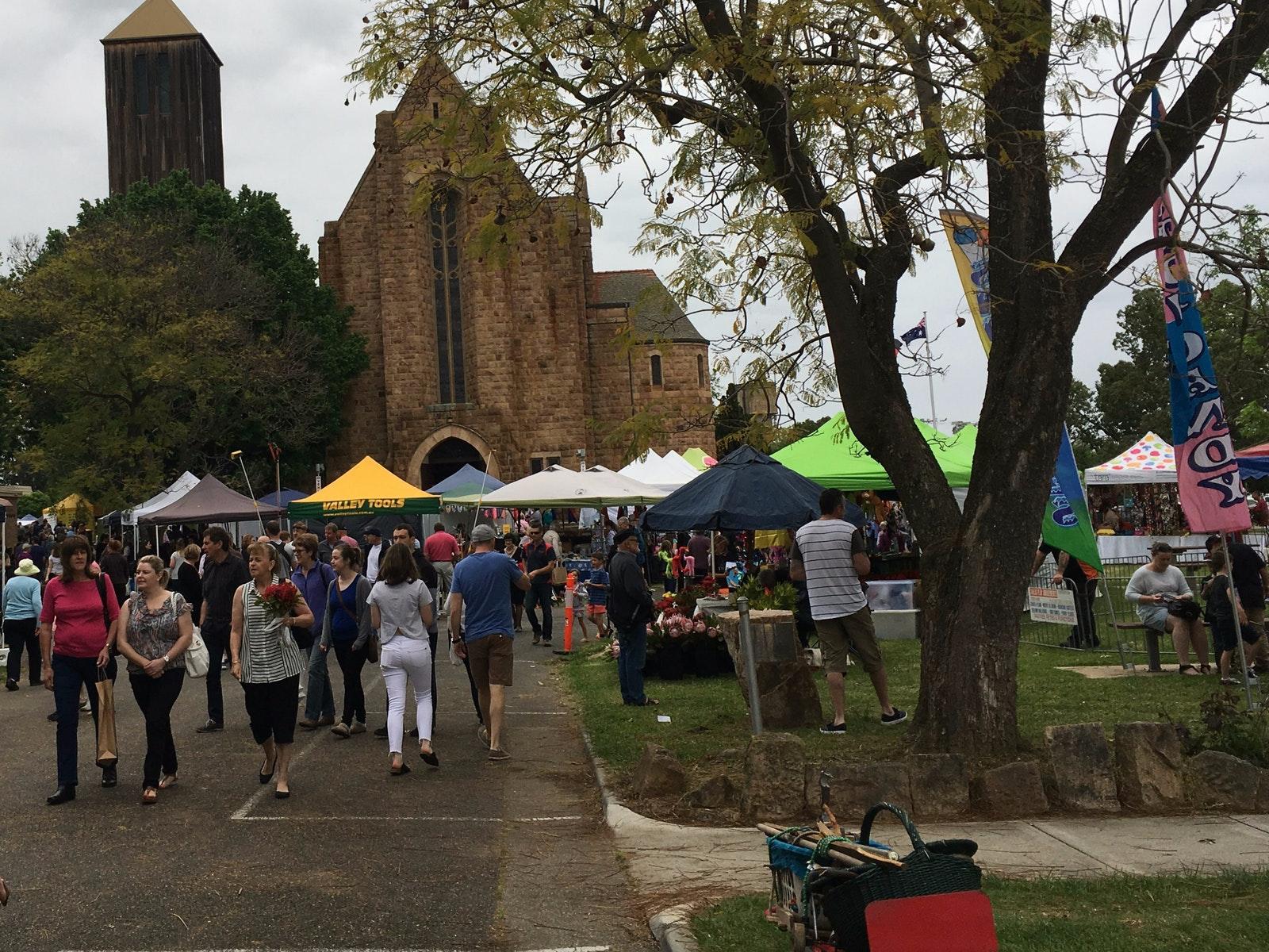 Wangaratta Festival of Jazz & Blues Sunday Market