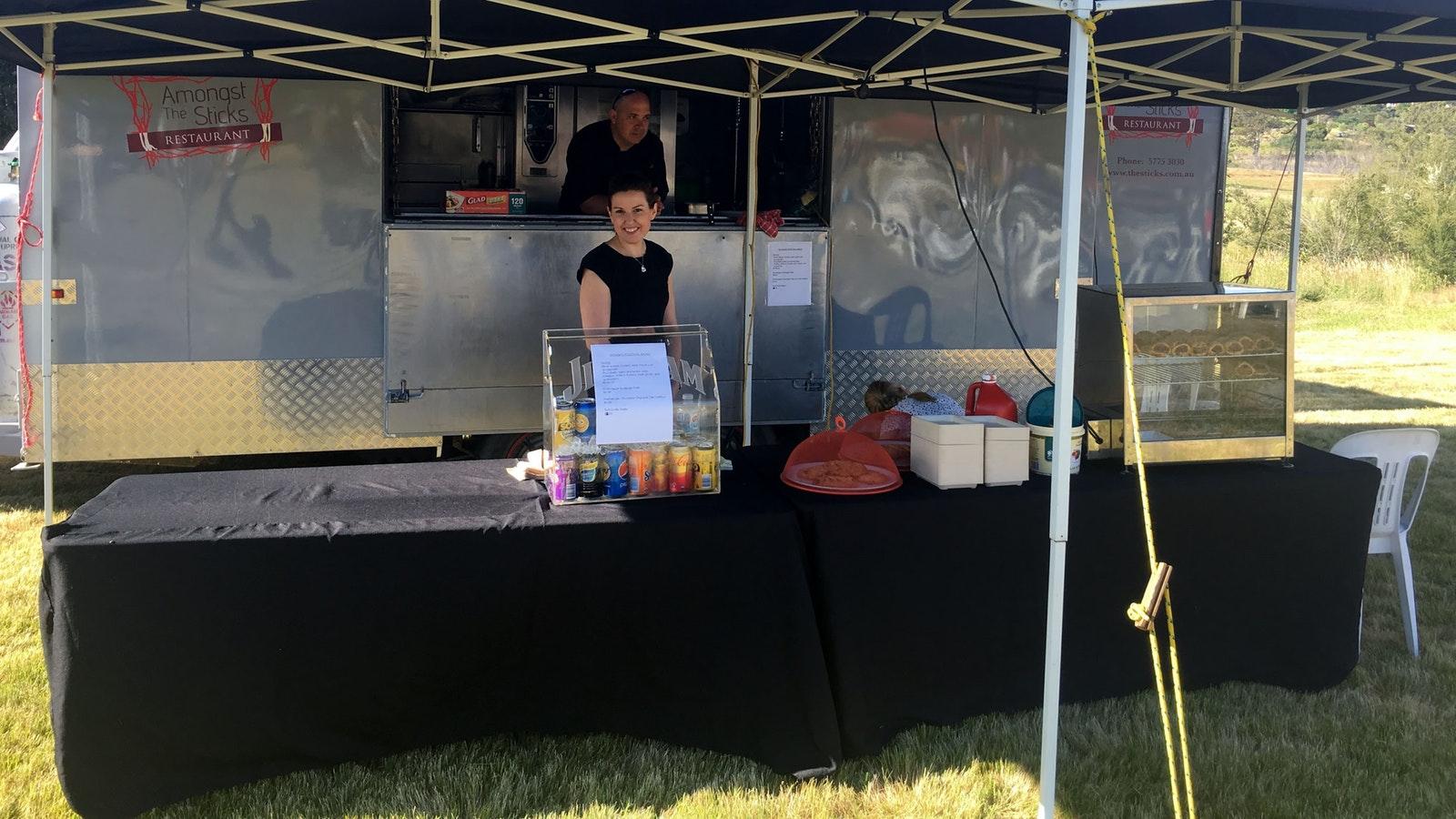 Food Stalls at Goughs Bay