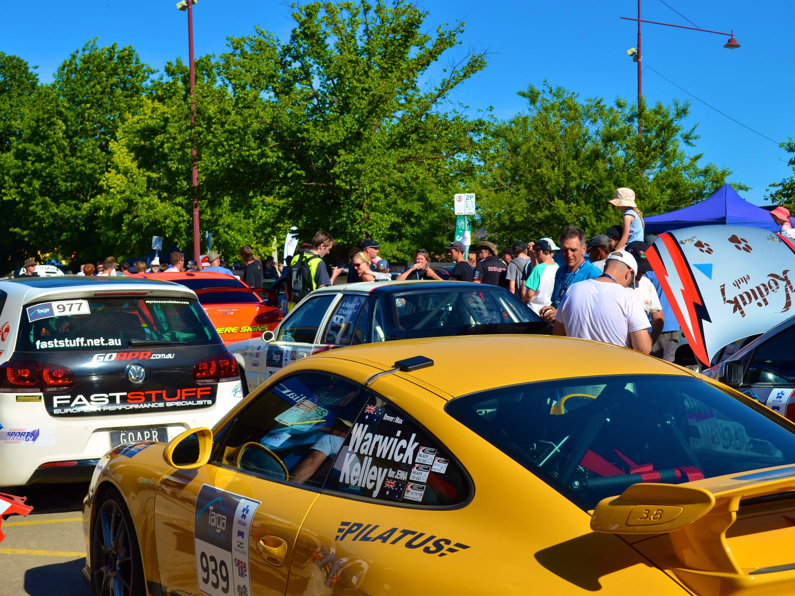Targa High Country competitors