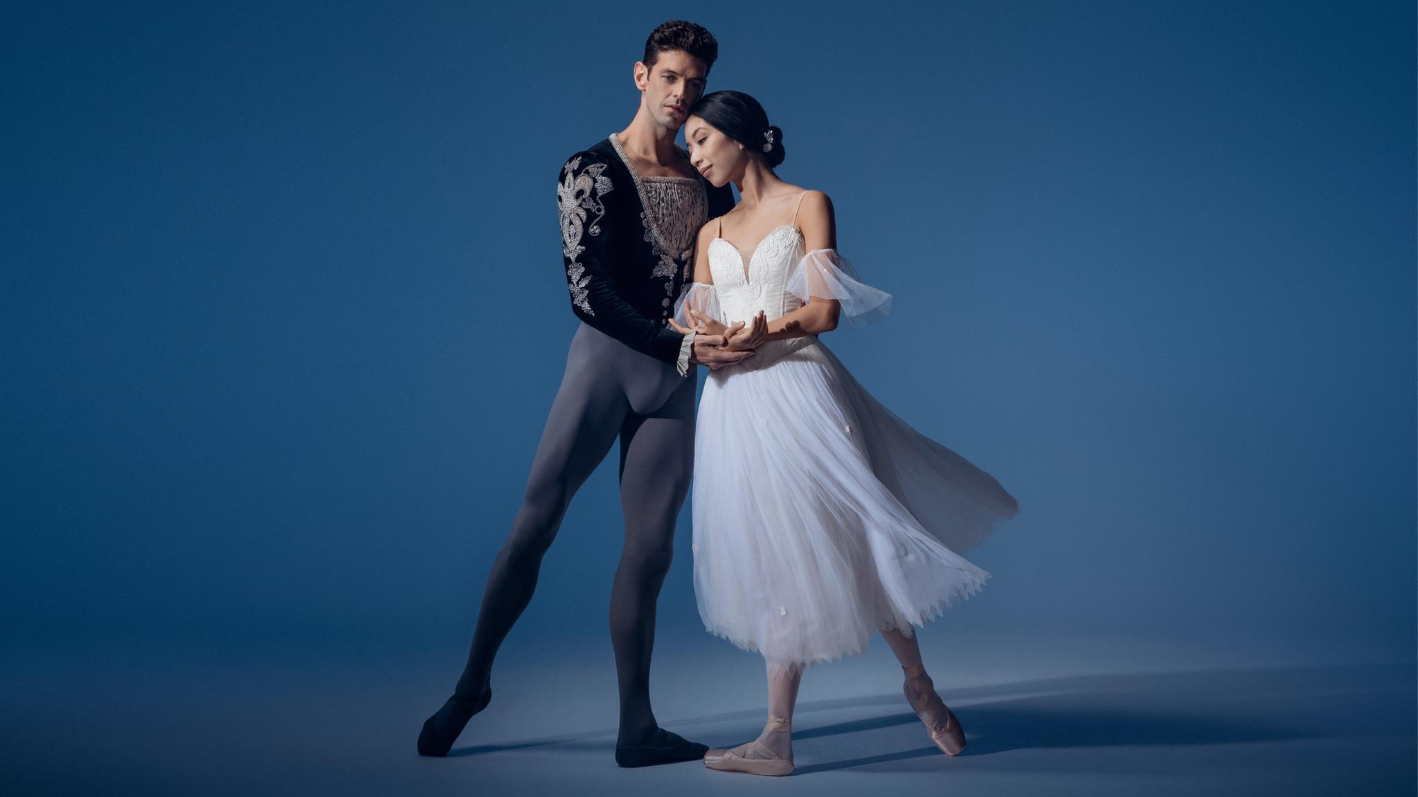 Andrew Killian and Karen Nanasca from The Australian Ballet