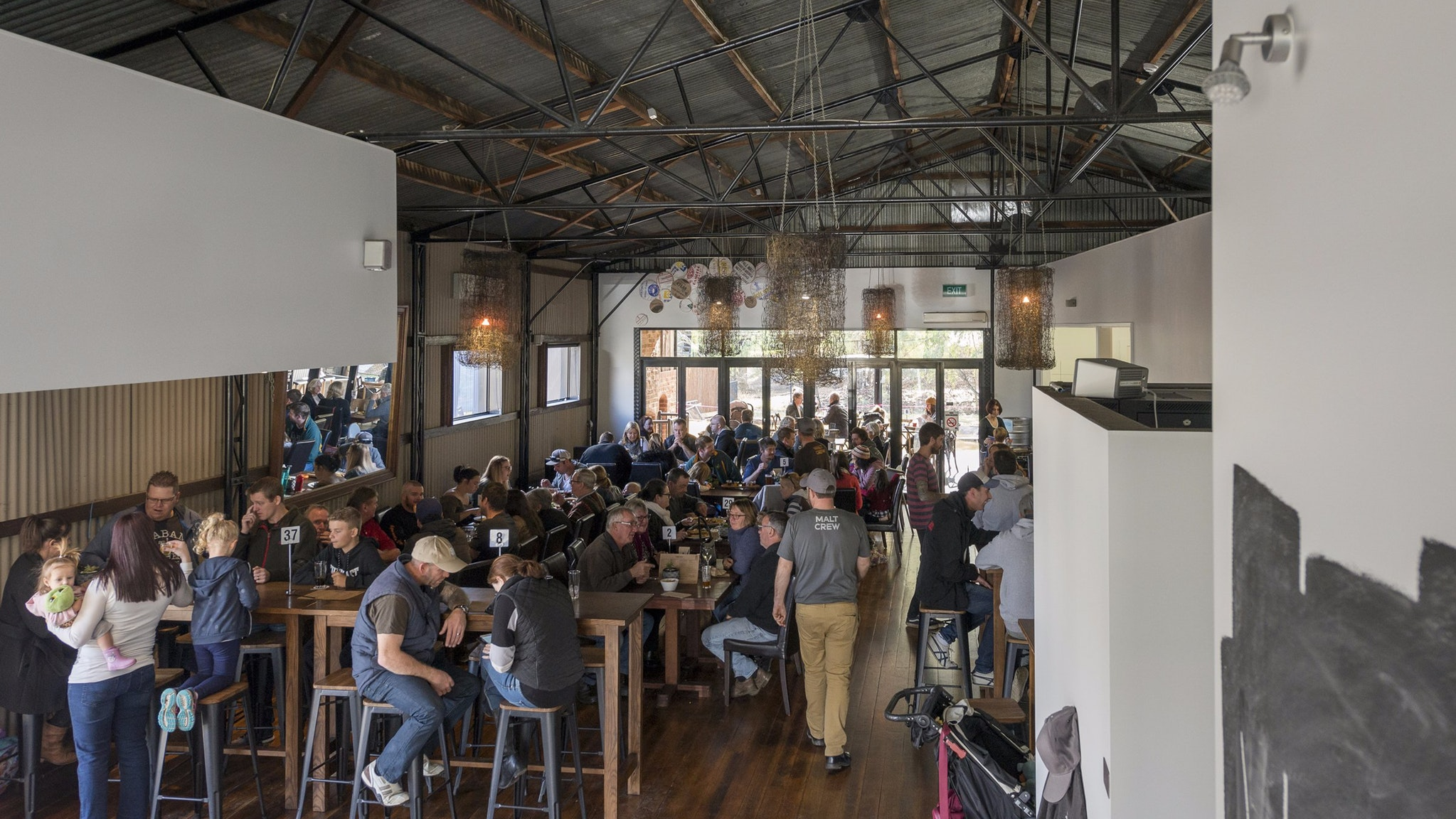 Malt Shed Brewery - interior