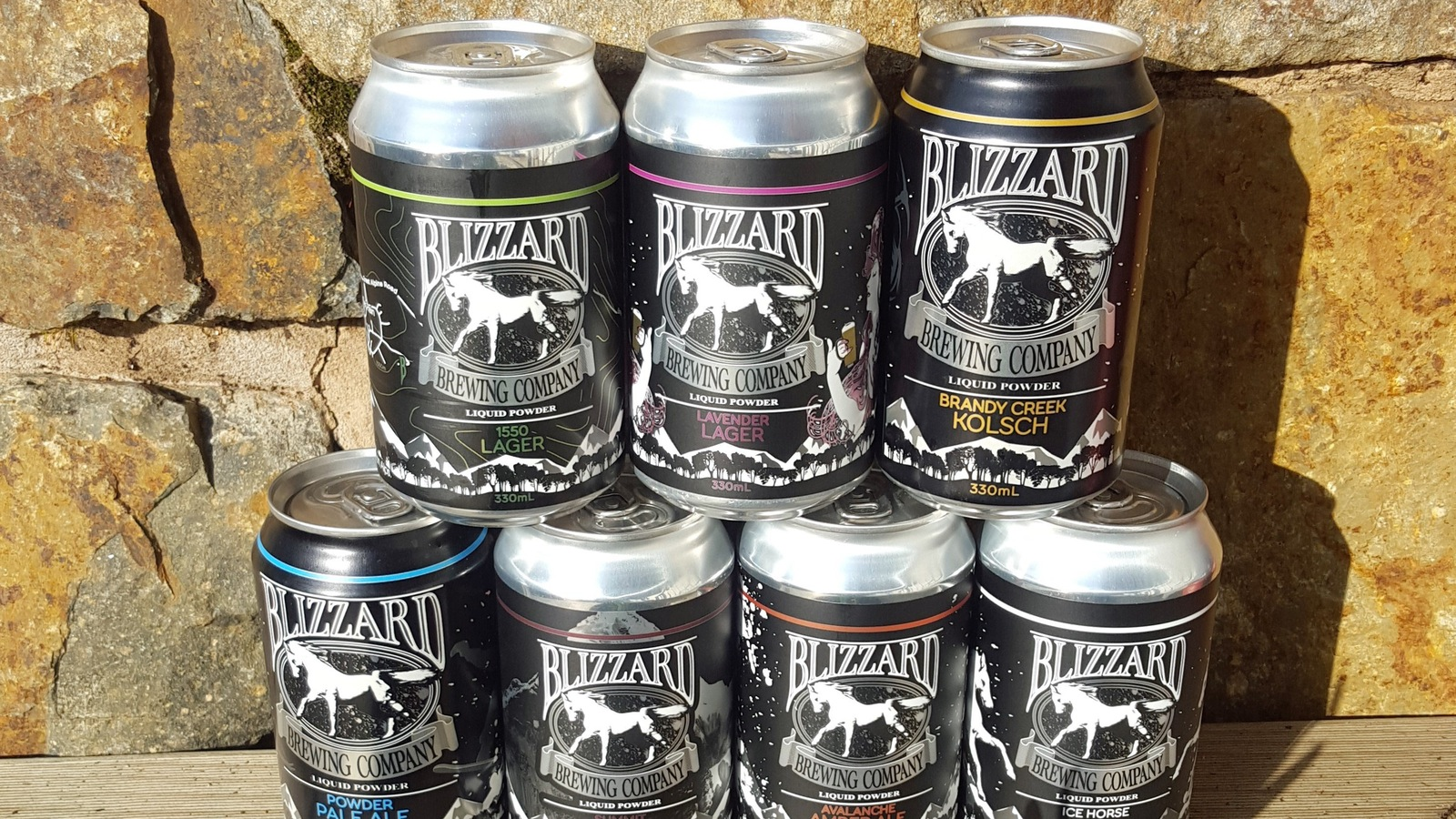Cans from Blizzard