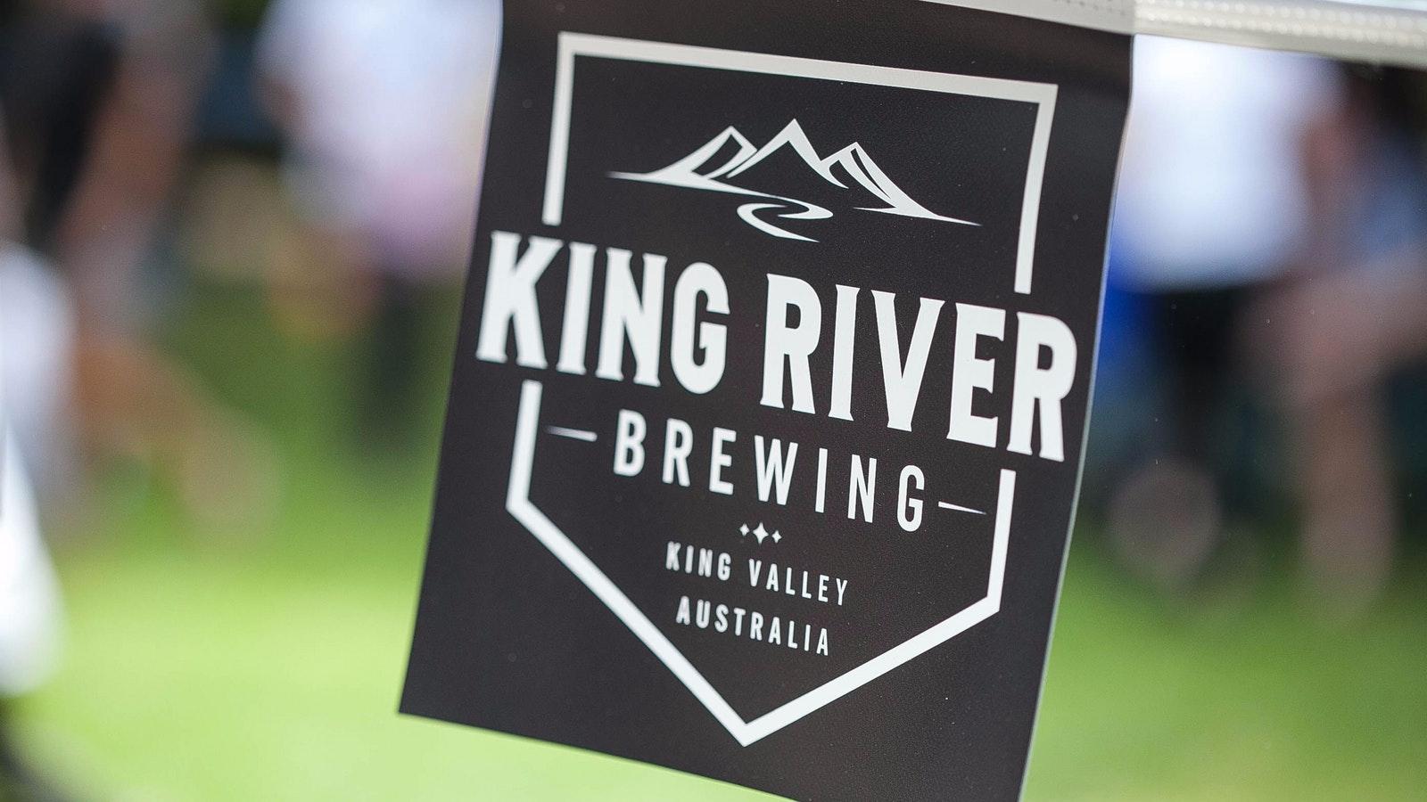King River Brewing bunting