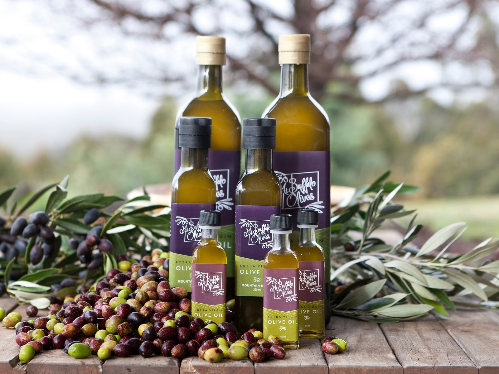 Mt Buffalo Olives Extra Virgin Olive Oil