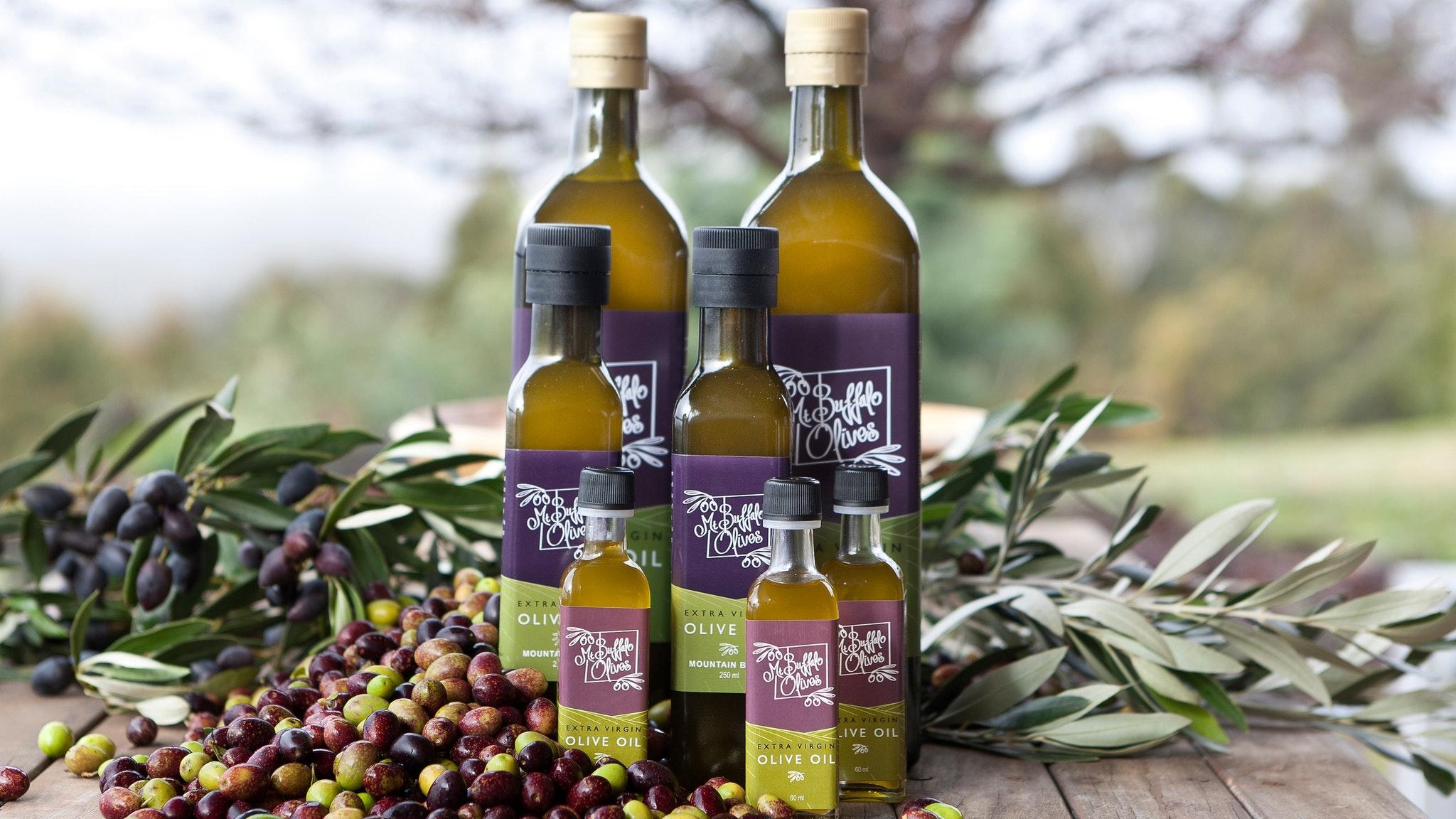 Mt Buffalo Olives Extra Virgin Olive Oil