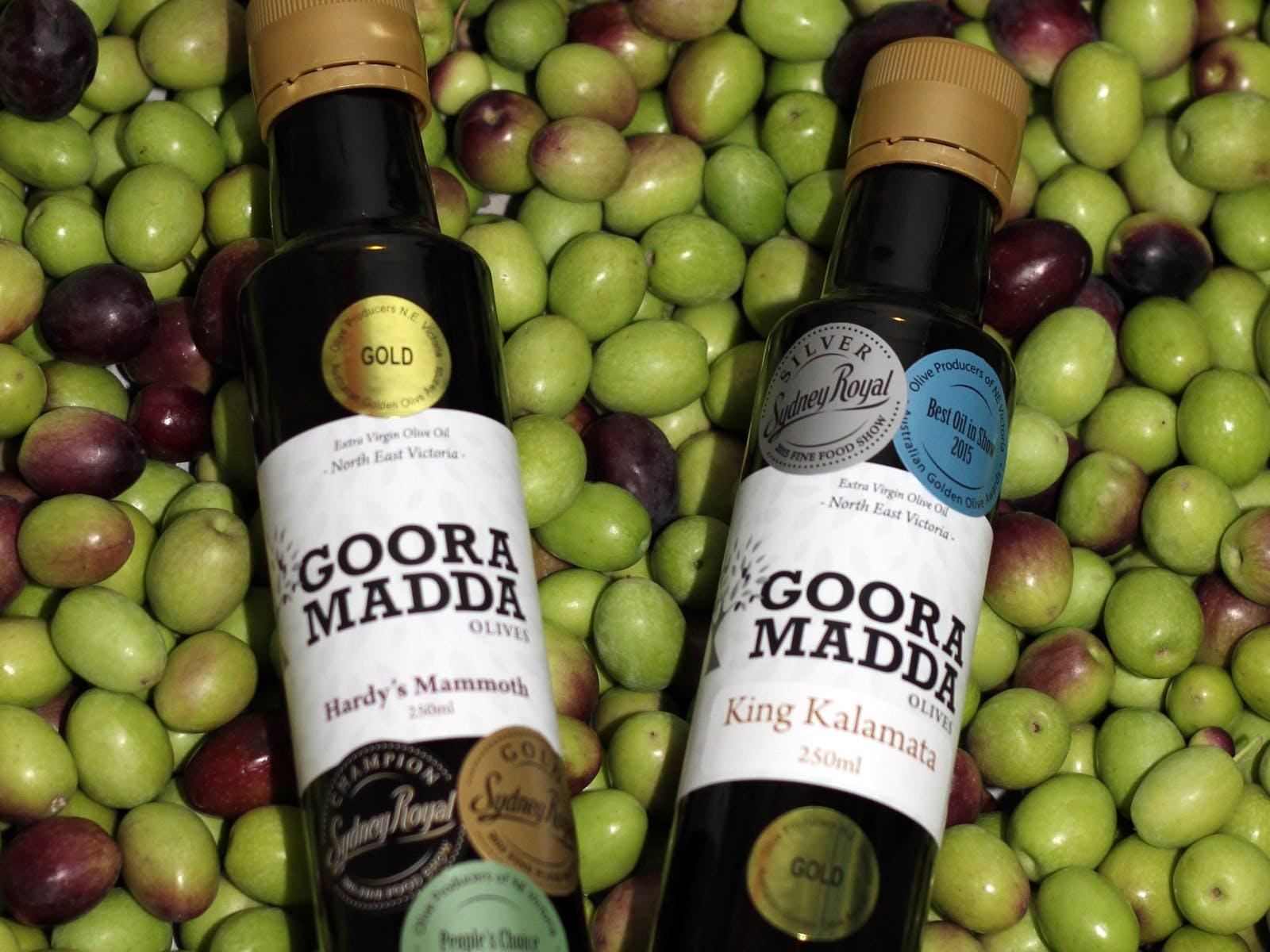 Gooramadda Olives Winning Oils - locally and internationally