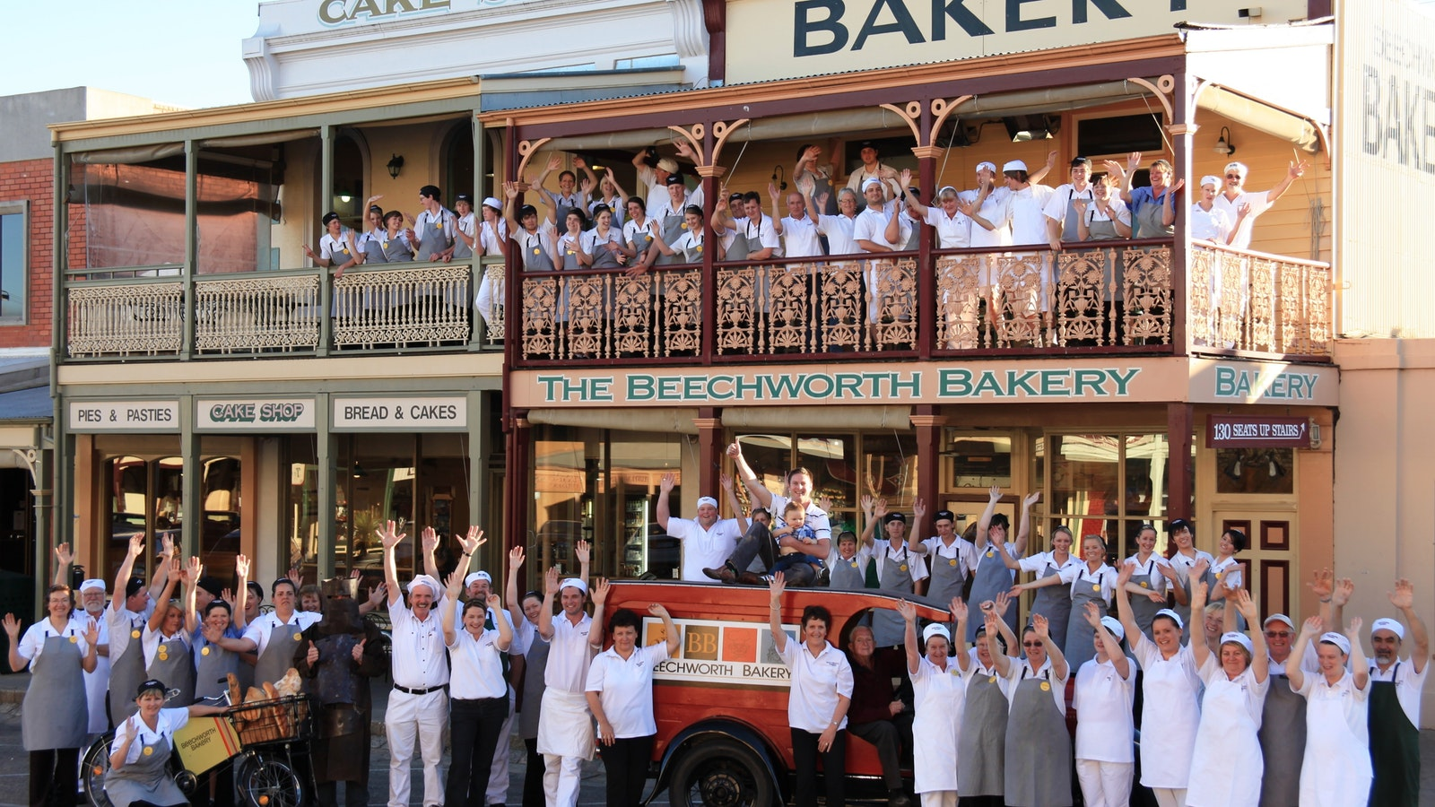 Beechworth Bakery welcomes you