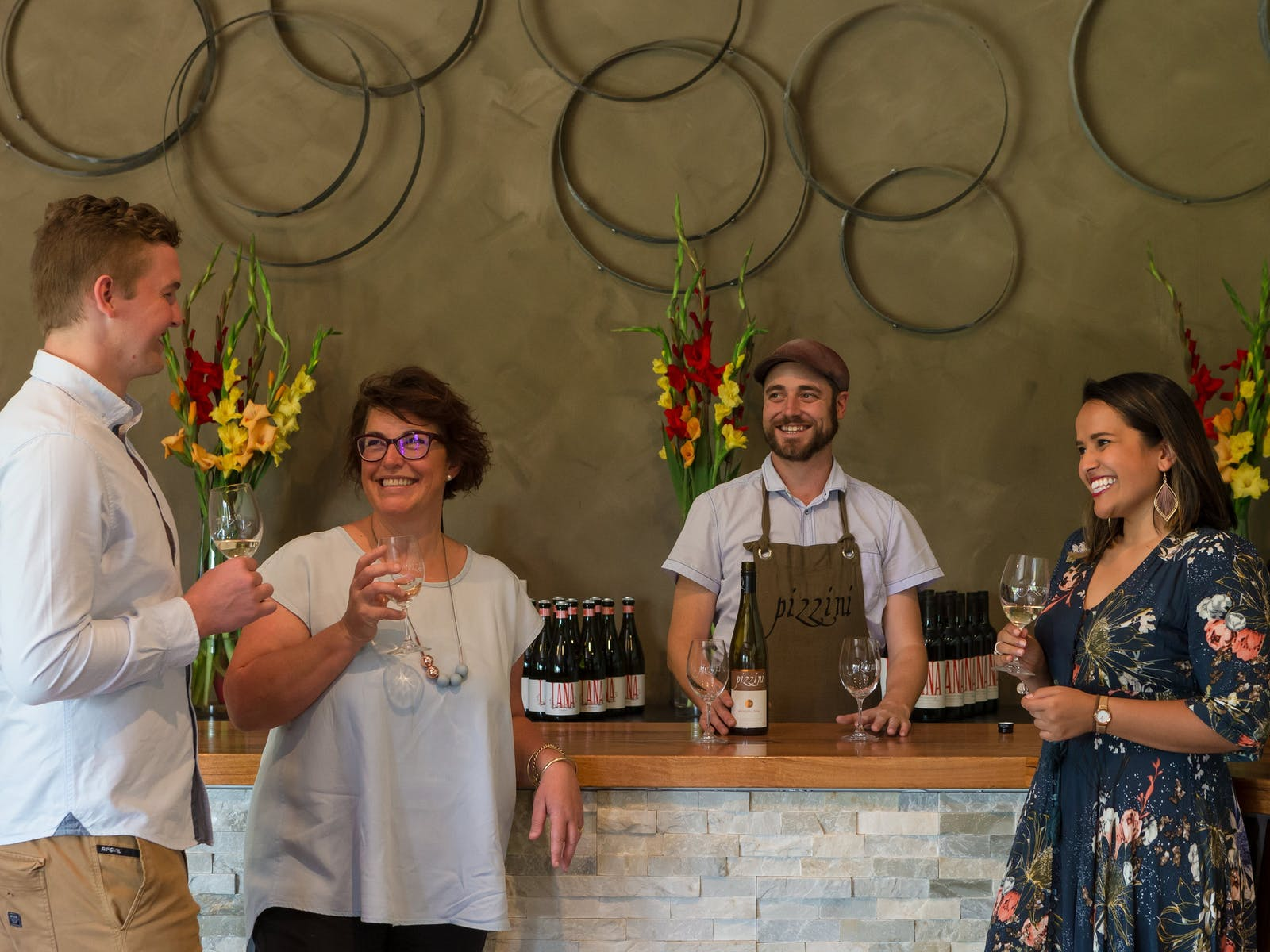 Wine Tasting at Pizzini Cellar Door