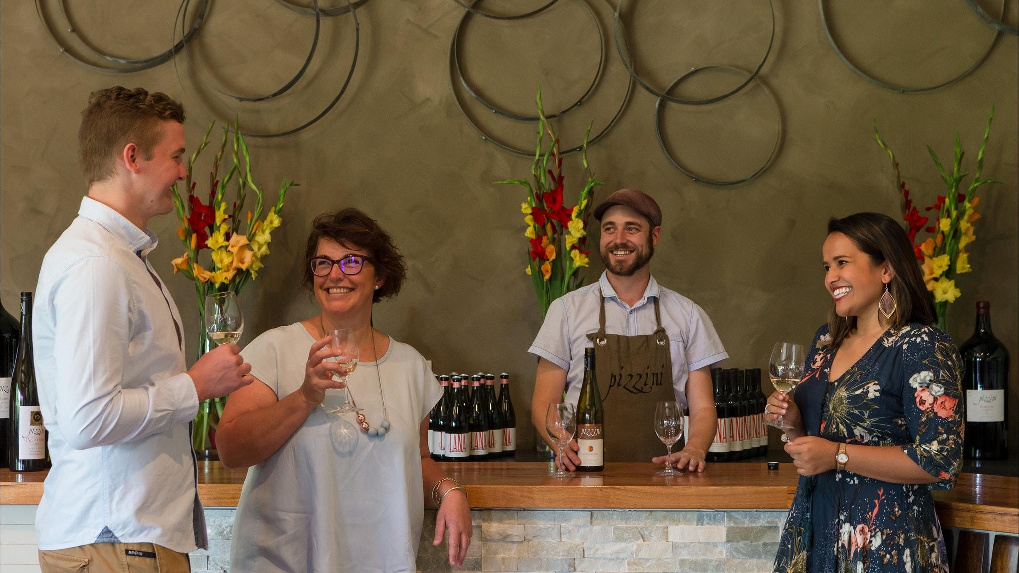 Wine Tasting at Pizzini Cellar Door