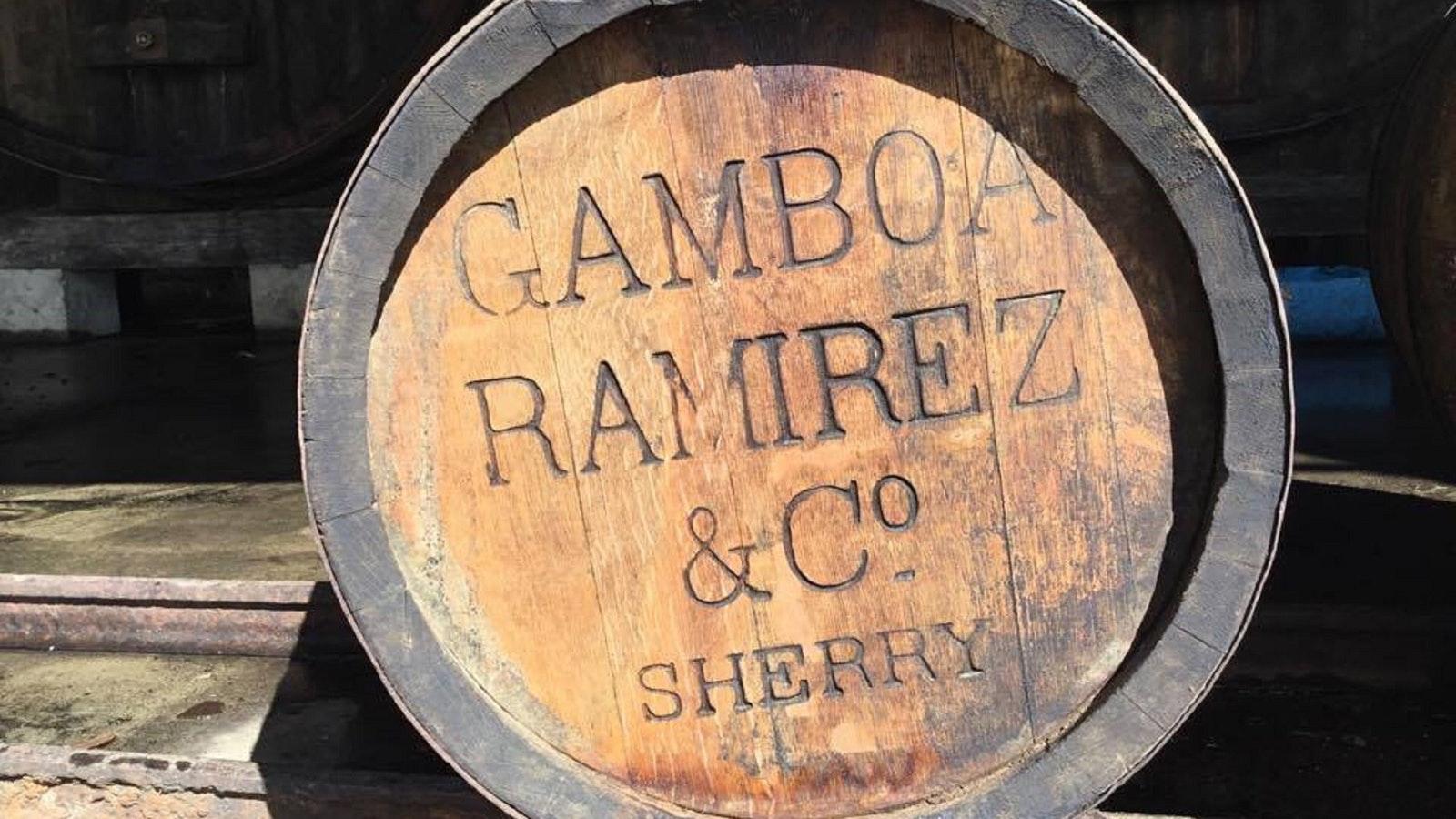 Gamboa Ramirez & Co Sherry Barrel