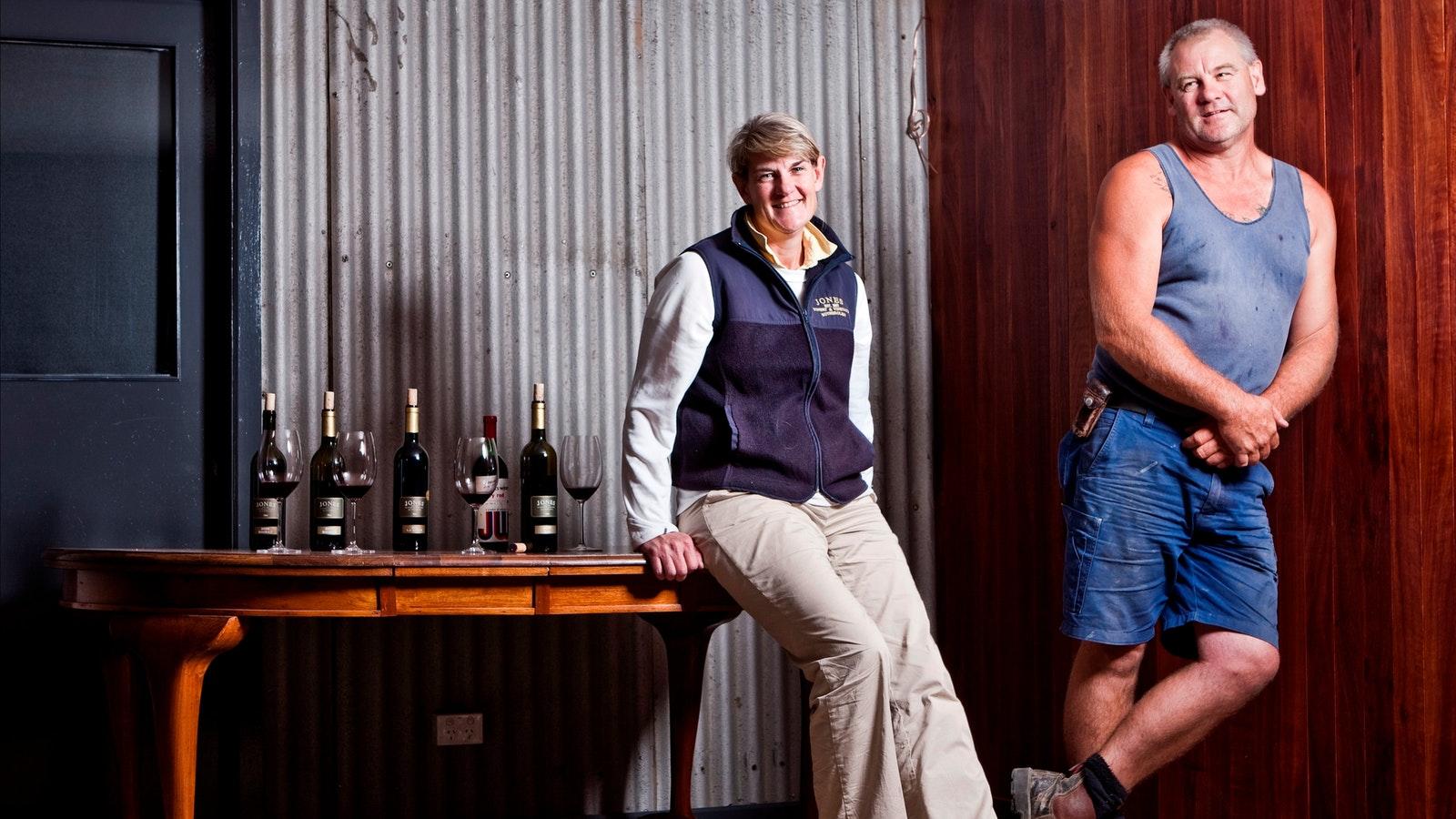Owners of Jones Winery & Vineyard