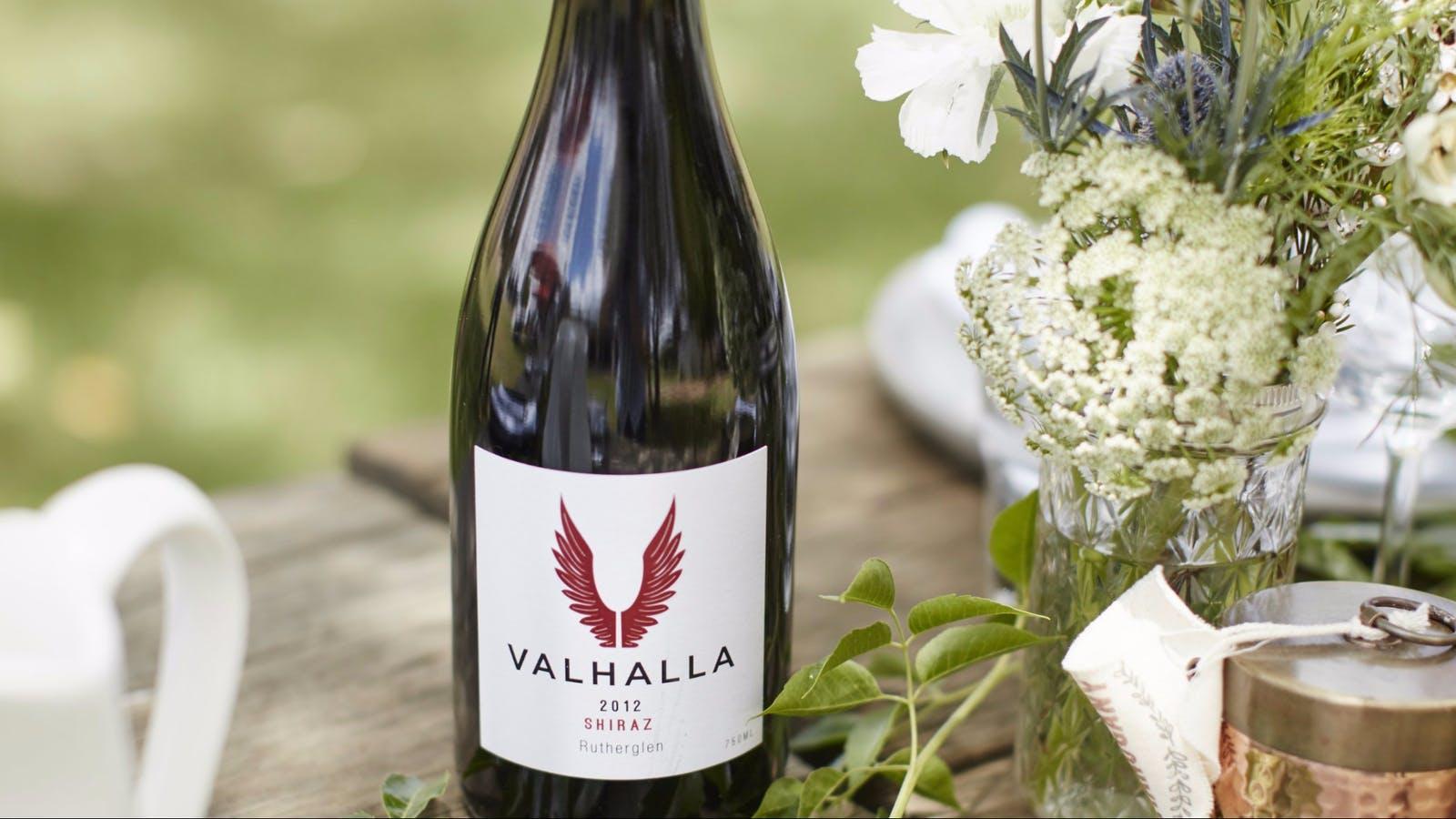 Valhalla Shiraz Bottle