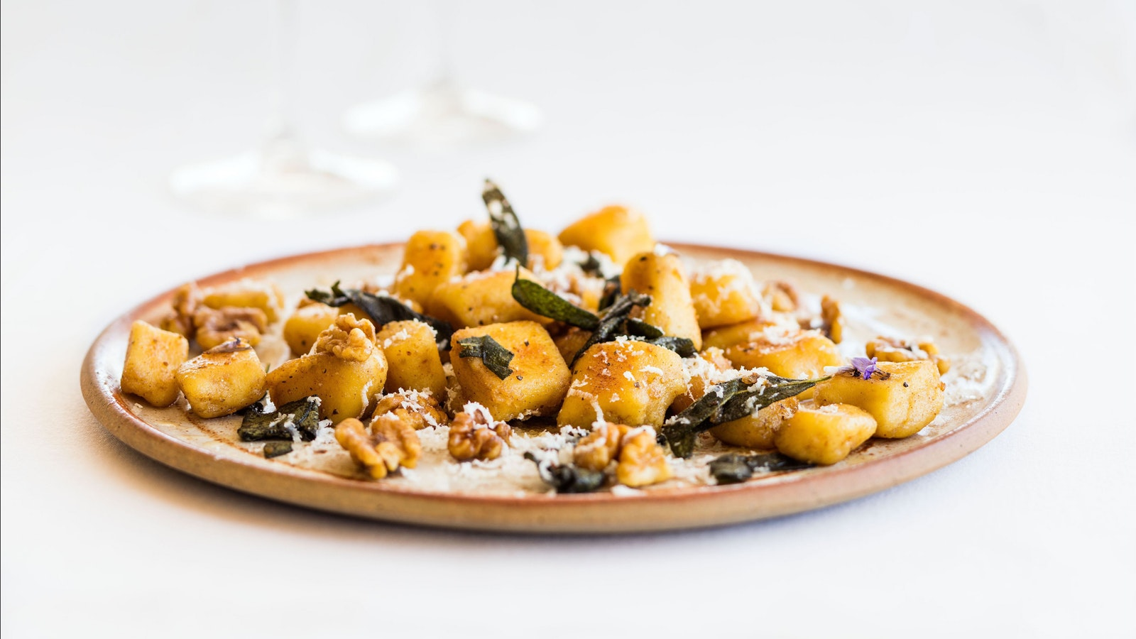 Gnocchi with burnt butter