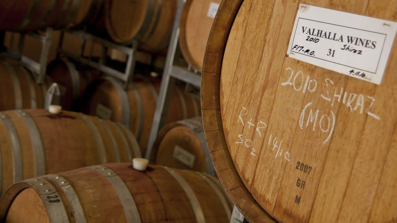 Barrels in the Cellar