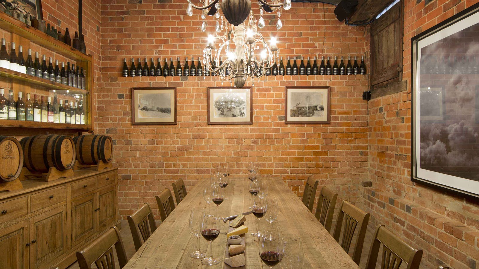 Private Dining Room at All Saints Estate
