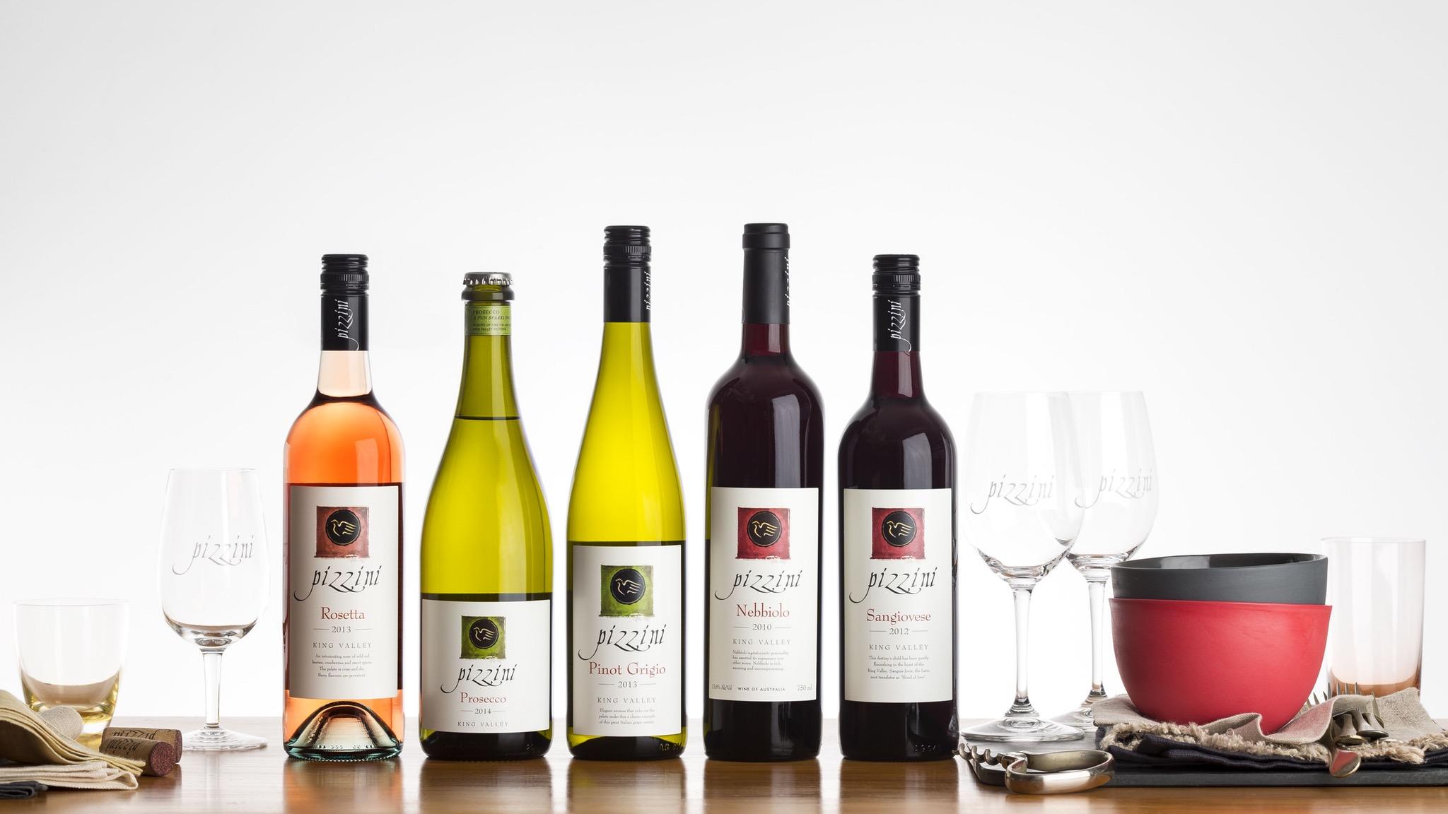 Pizzini Wines, Pizzini bottles