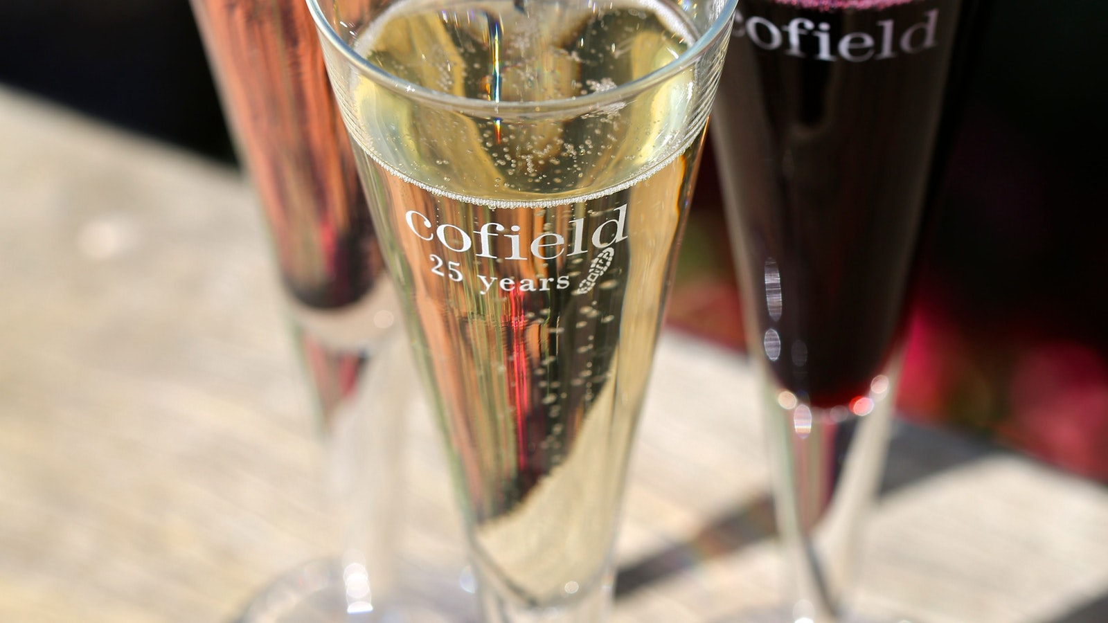 Cofield Wines are Sparkling Wine Specialists
