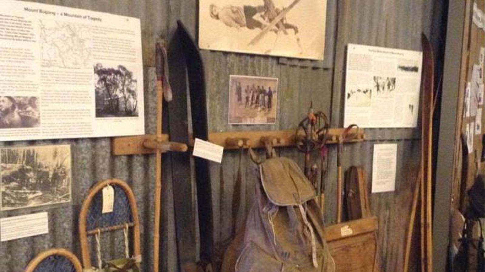Skiing Mt Bogong KVHS Museum
