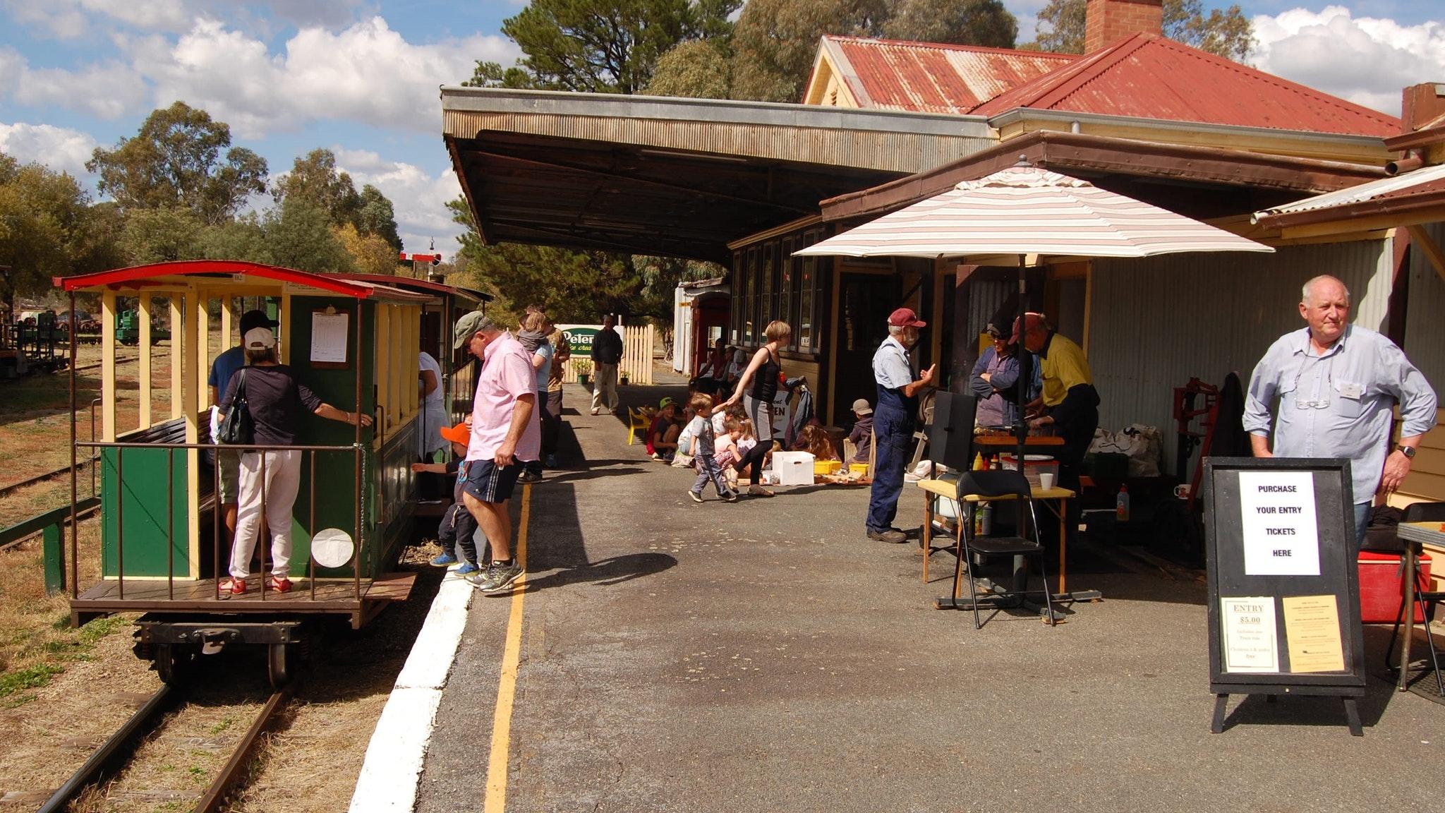 Alexandra Timber tramway Museum