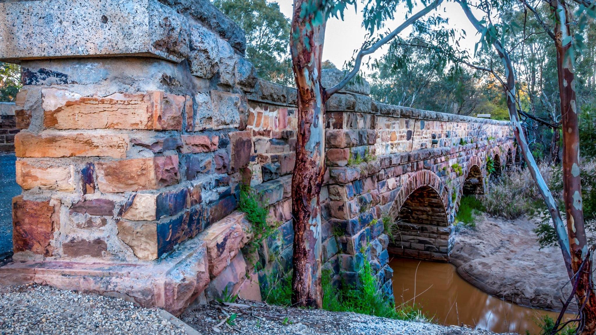 Historic Hughes Creek Bridge