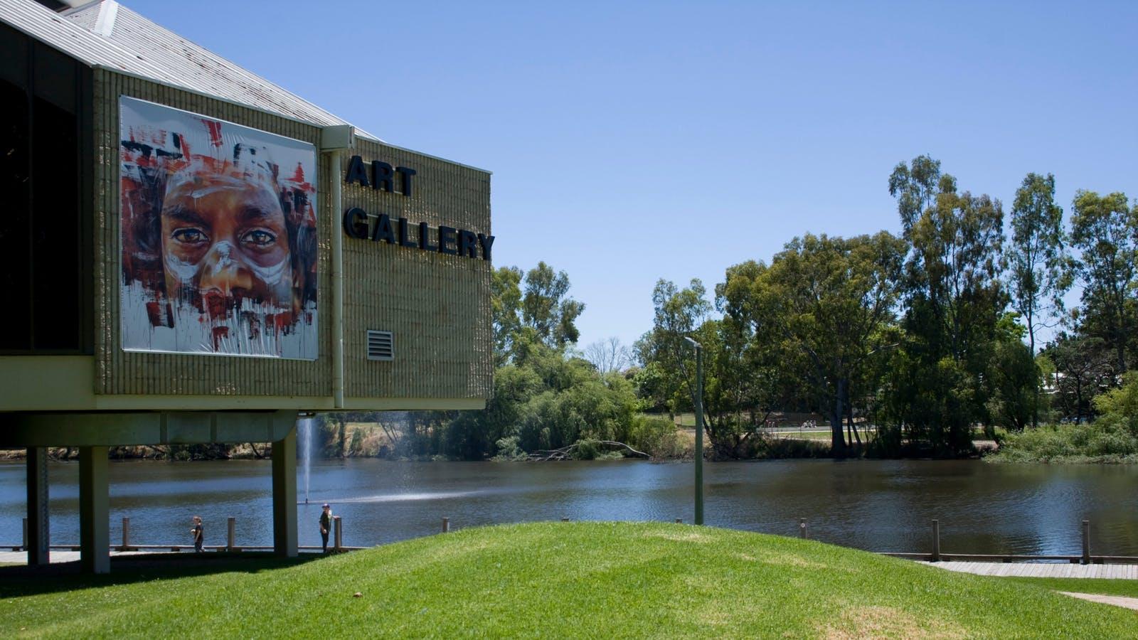 Benalla Art Gallery on Lake Benalla