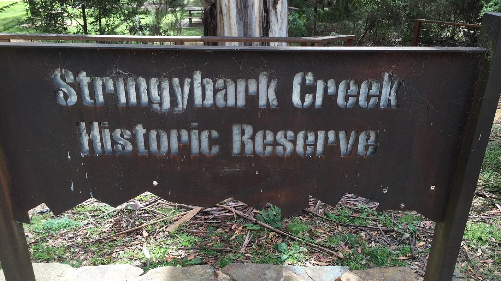 Stringybark Creek Historic Reserve
