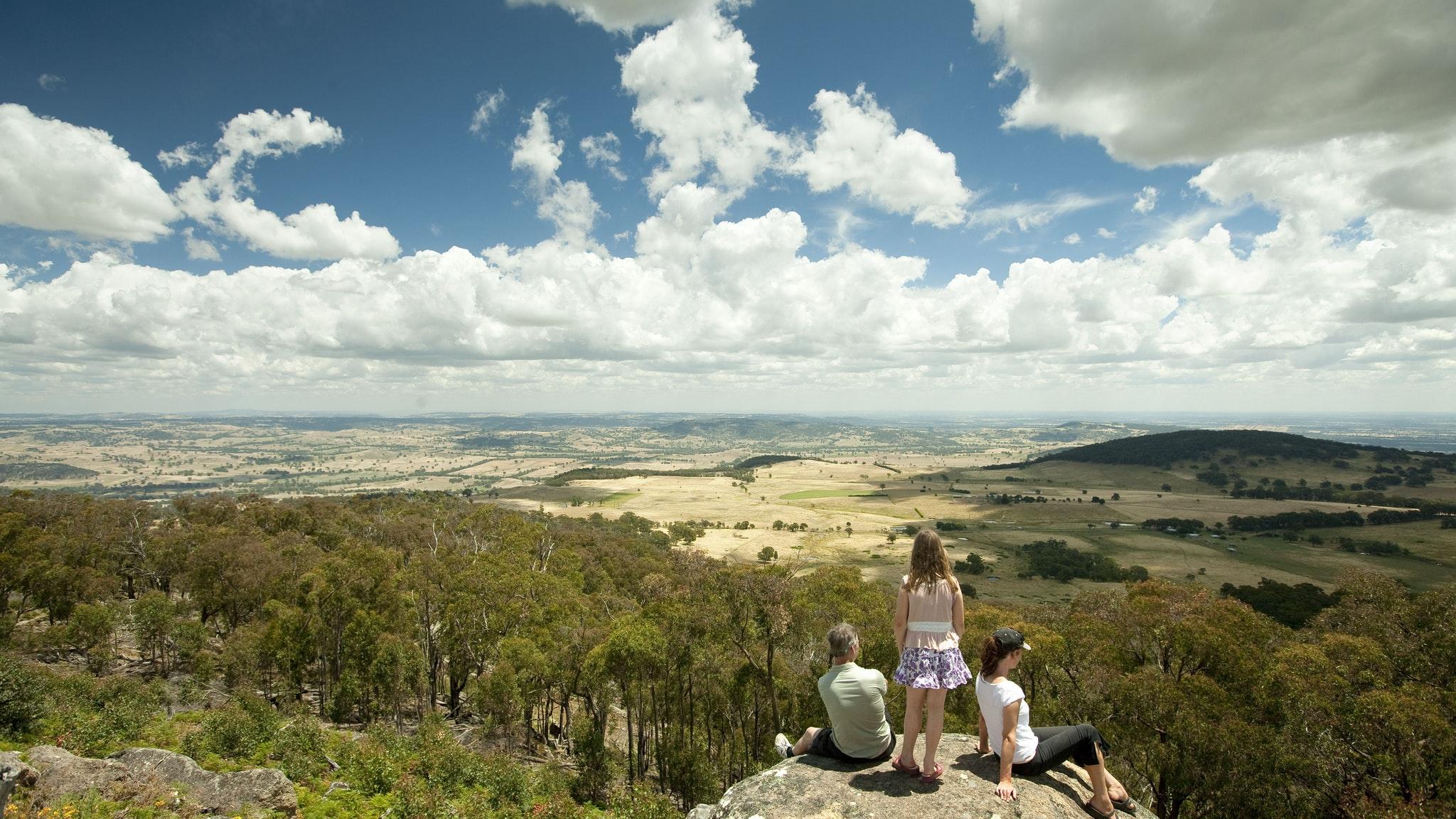 Mt Wombat lookout