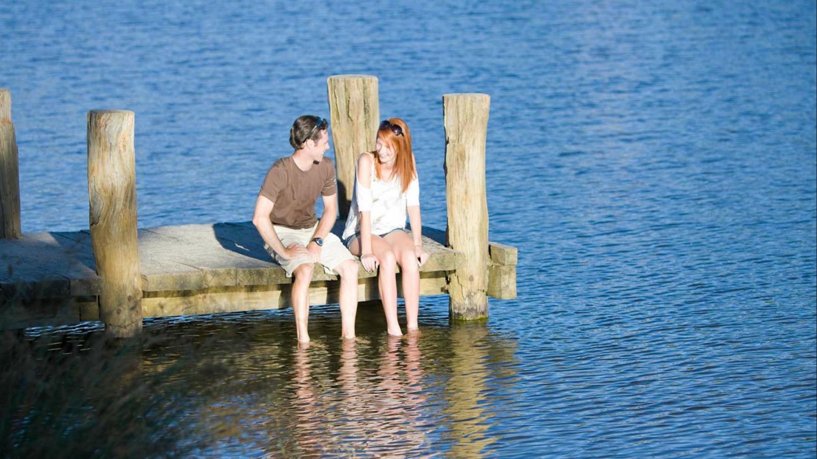 Relax at Lake Sambell