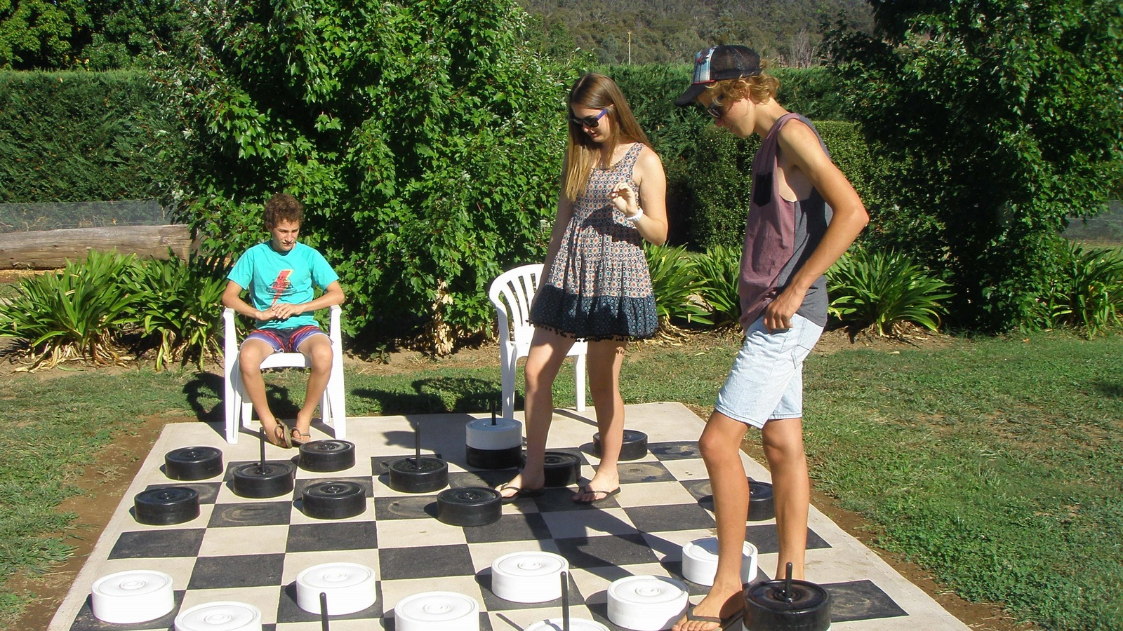Brookfield Maze Checkers