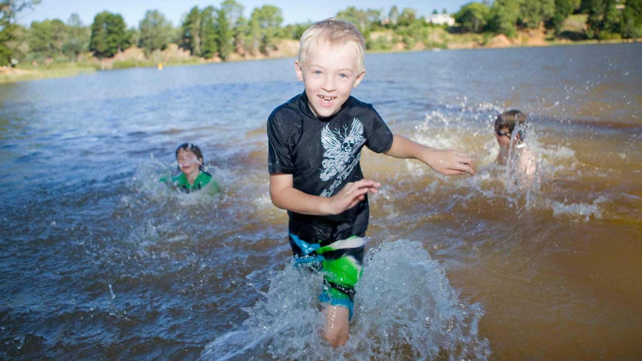 Fun at Lake Sambell