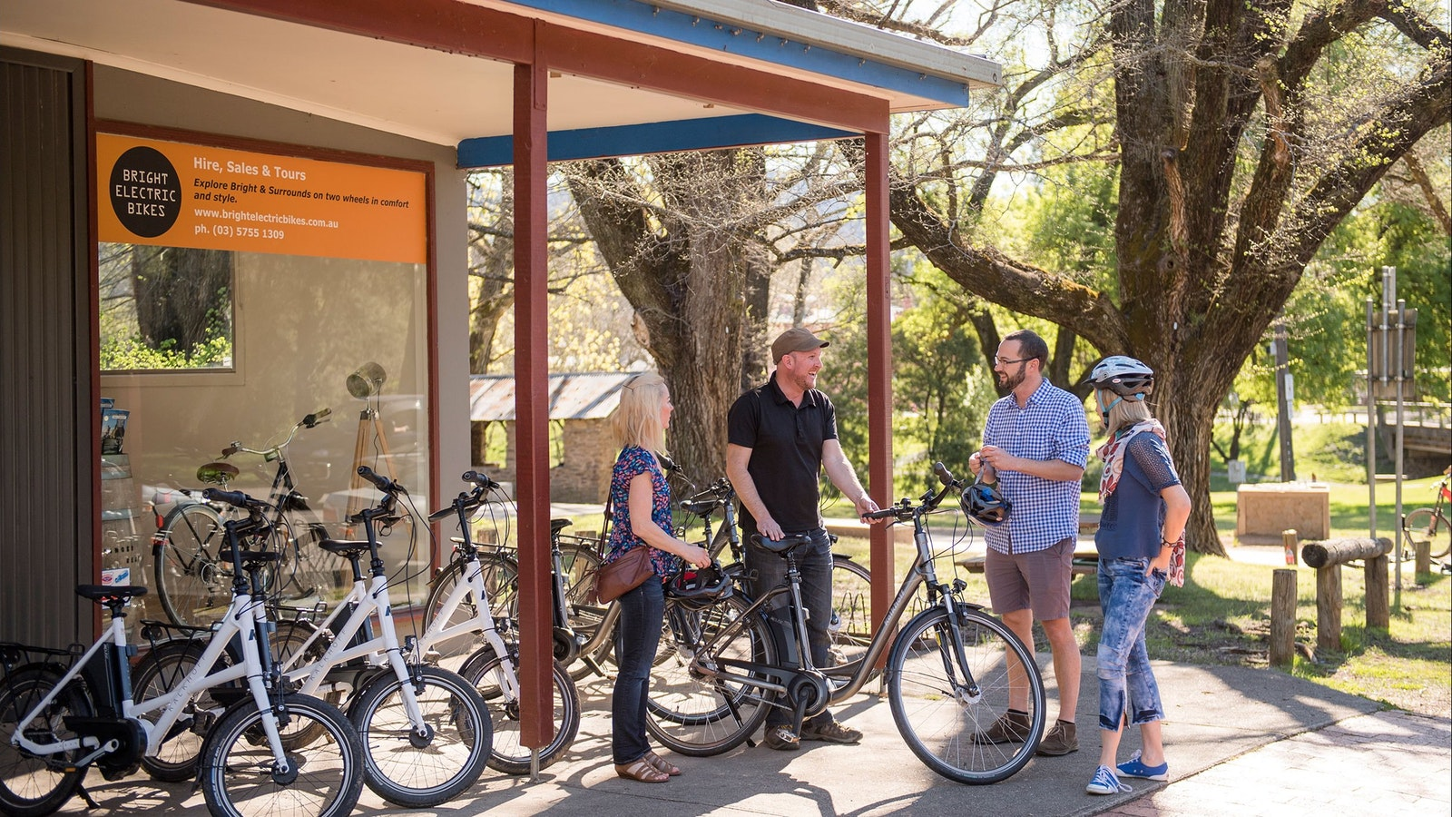 Bright Electric Bikes - Hire a bike