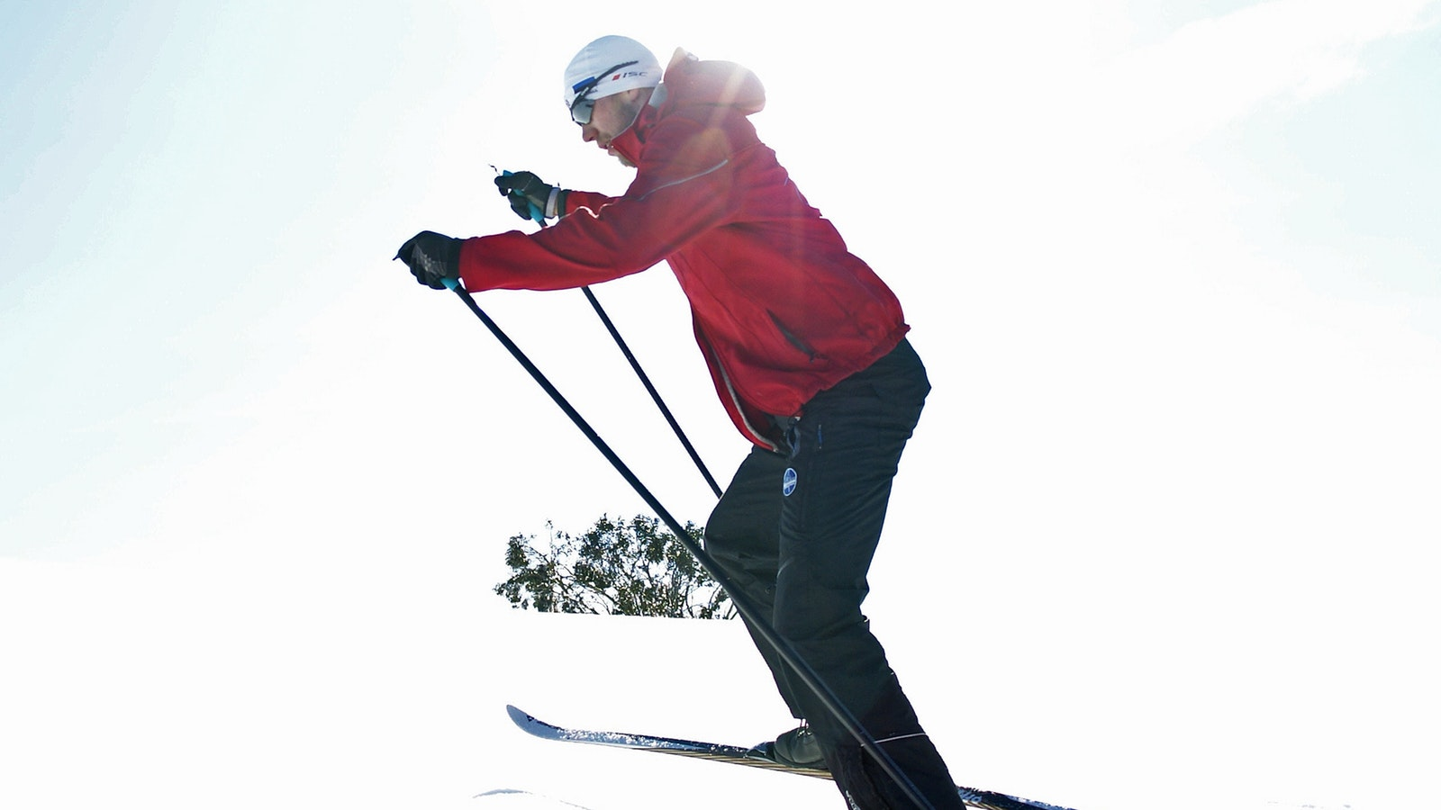 Cross country skiing at Mt Stirling