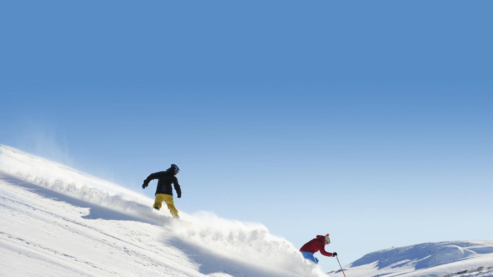 Skiing and Snowboarding Hotham