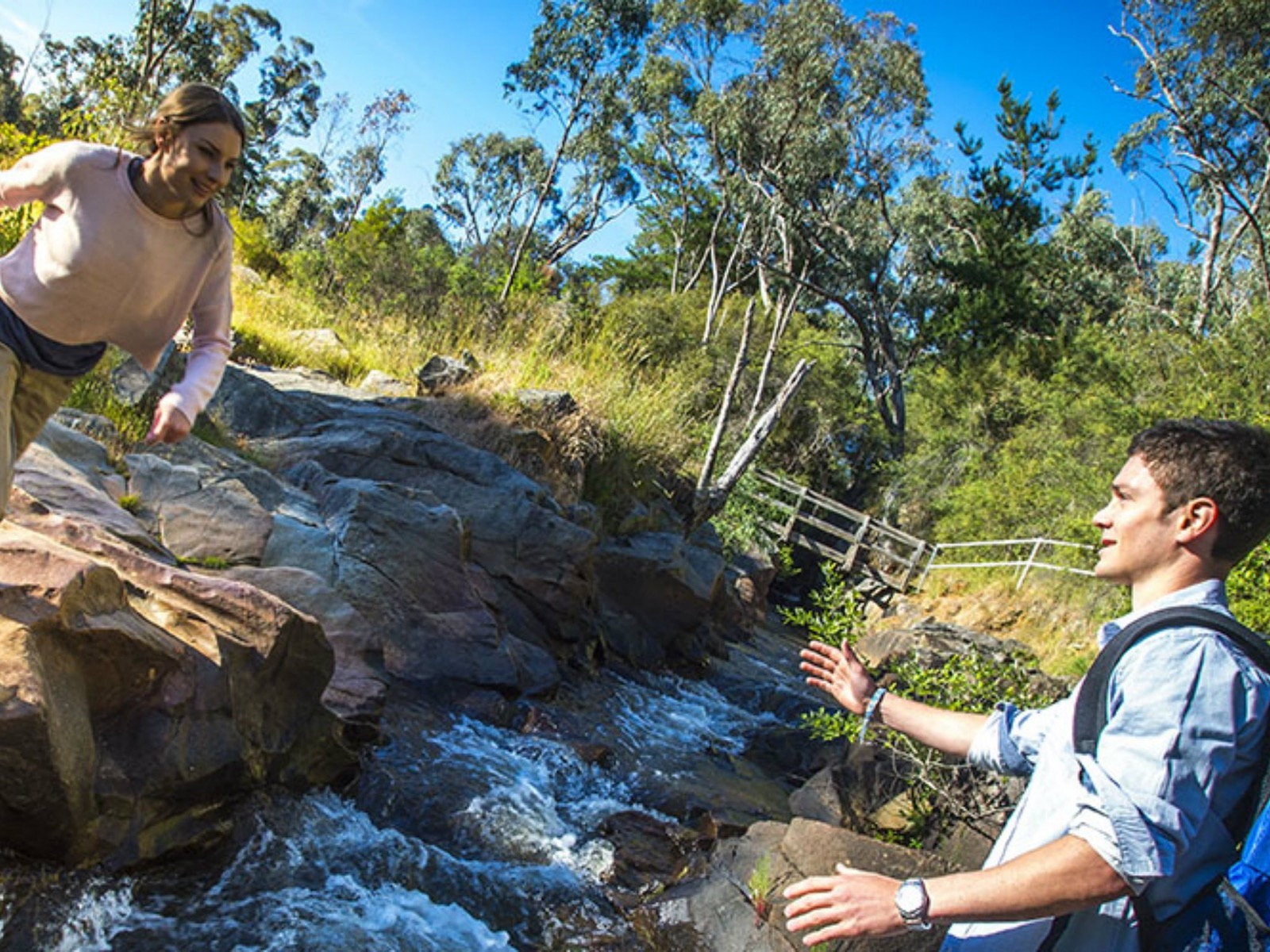 Couple at Yackandandah Gorge