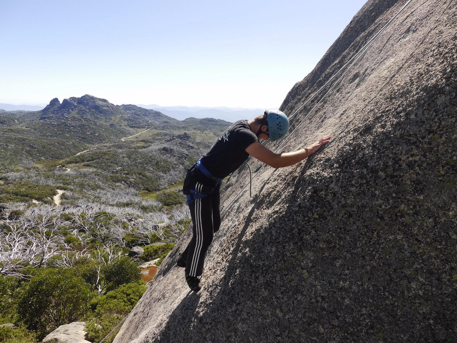 Mt Buffalo Climbing, The Horn