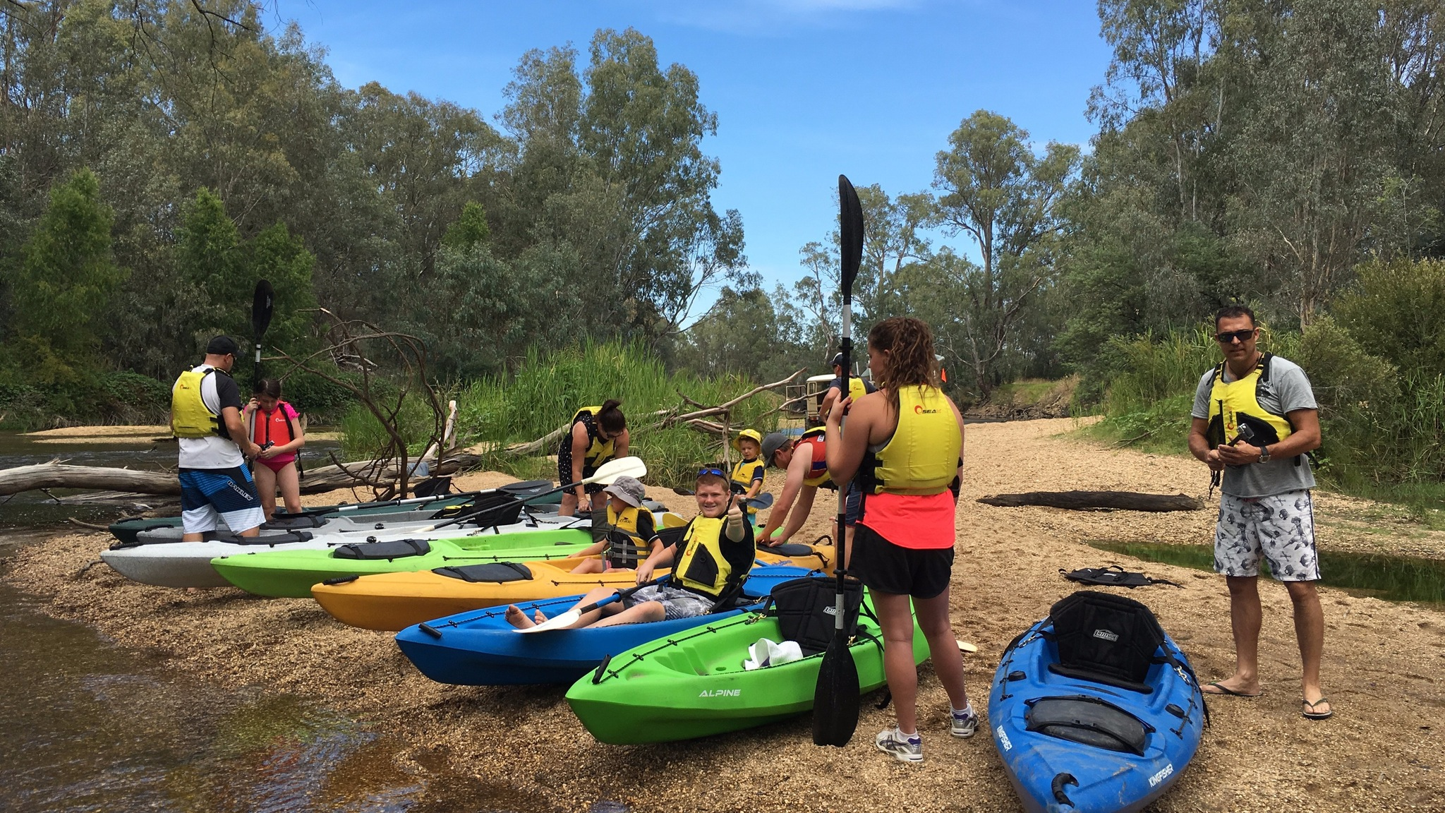 Ovens River Paddle