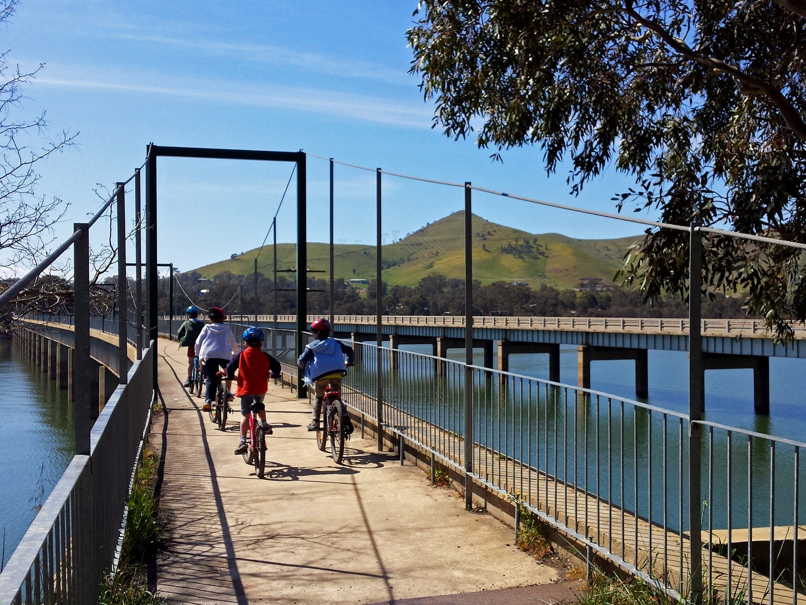 Bonnie Doon Bridge - Great Vic Rail Trail