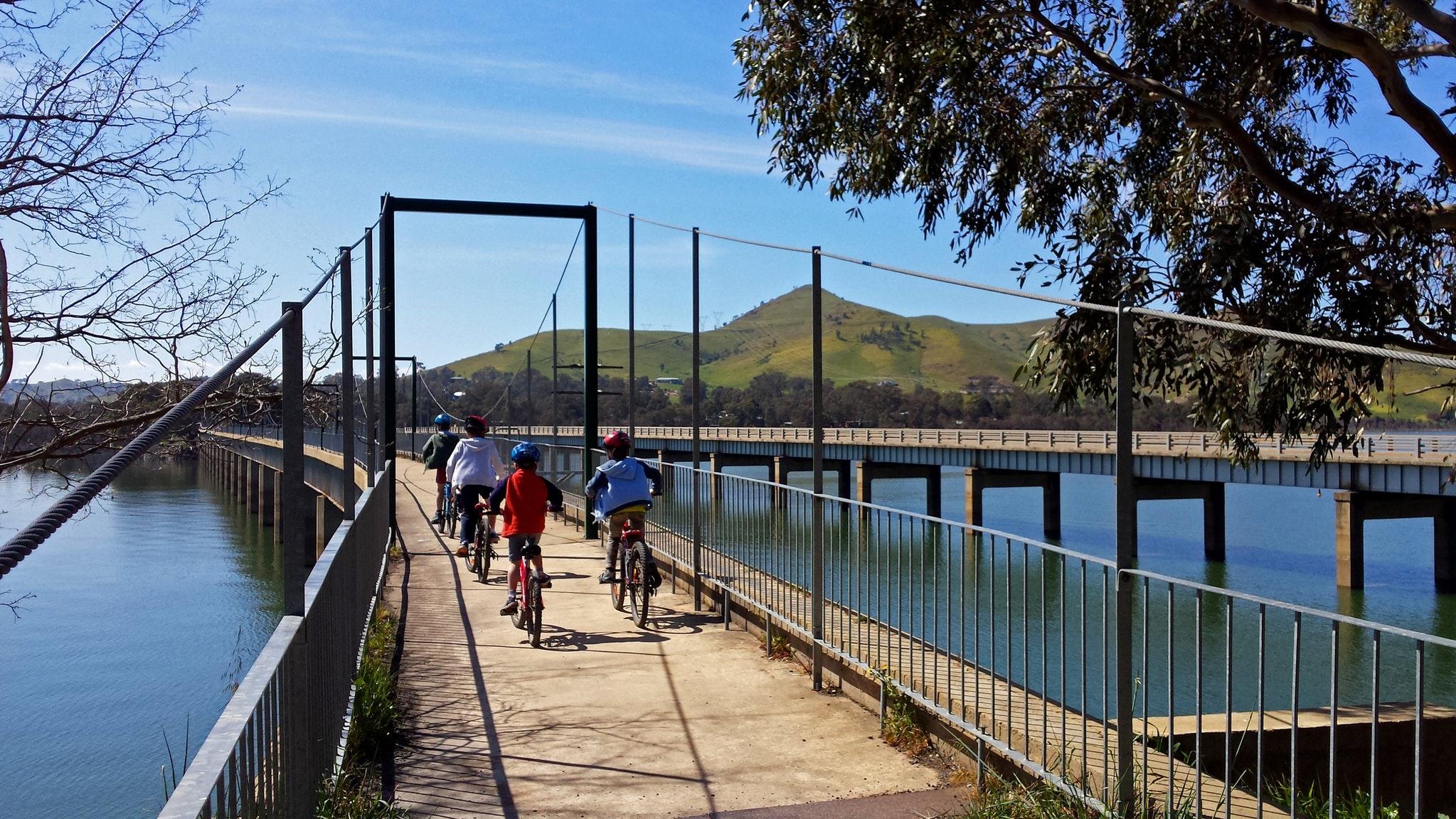 Bonnie Doon Bridge - Great Vic Rail Trail