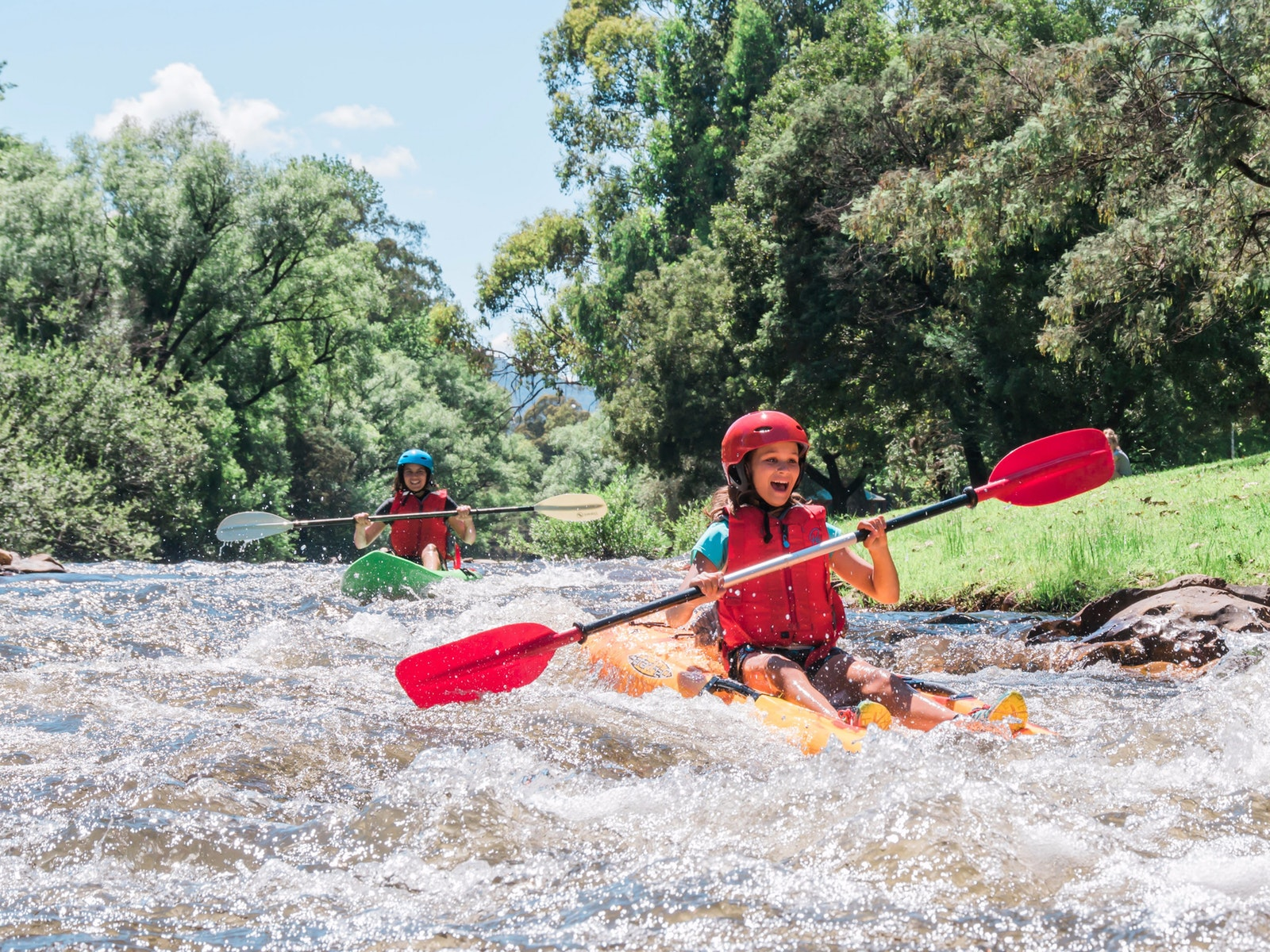 Ovens River Kayaking- Bright Adventure Company