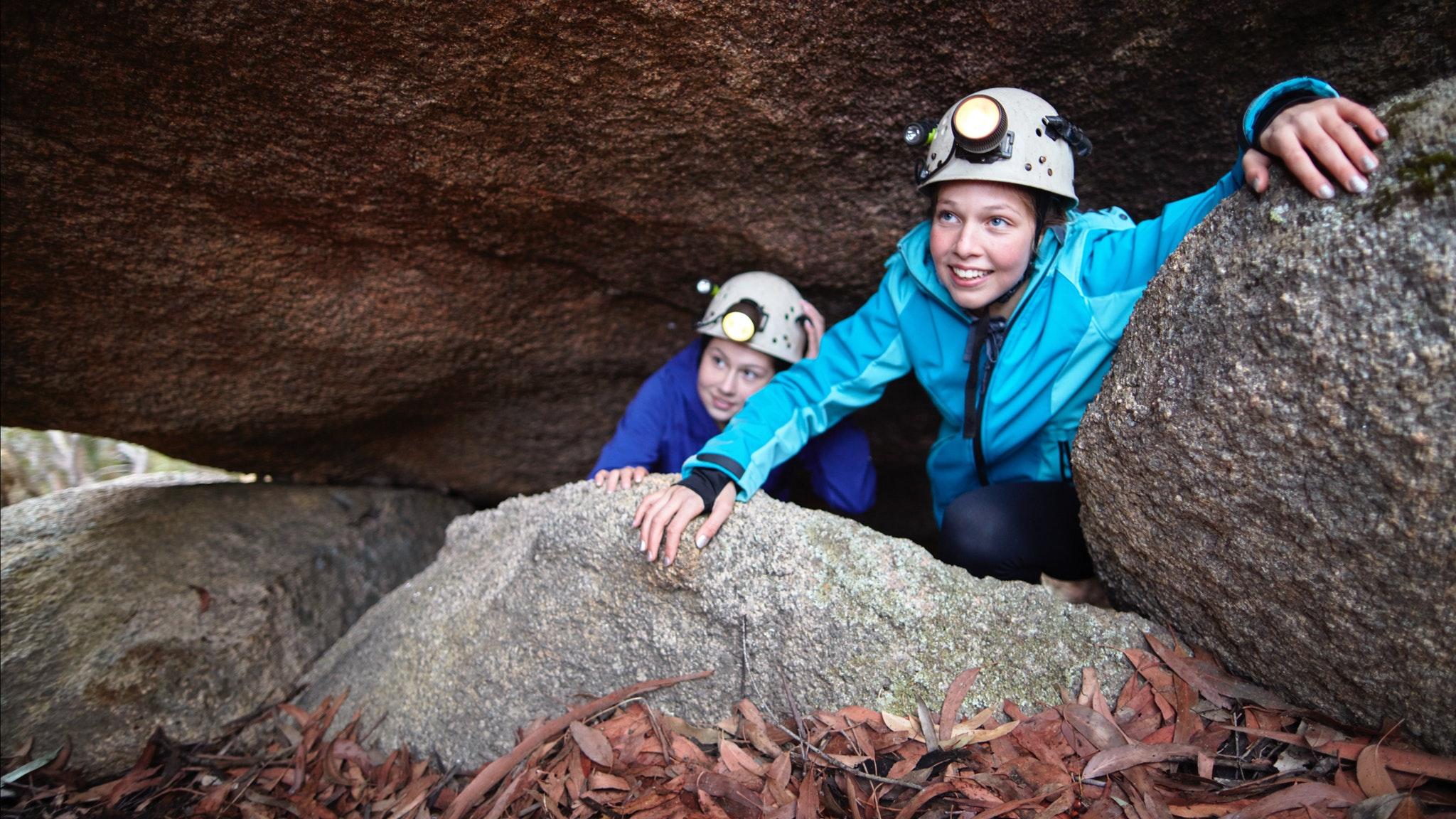 Underground River Caving at Mount Buffalo
