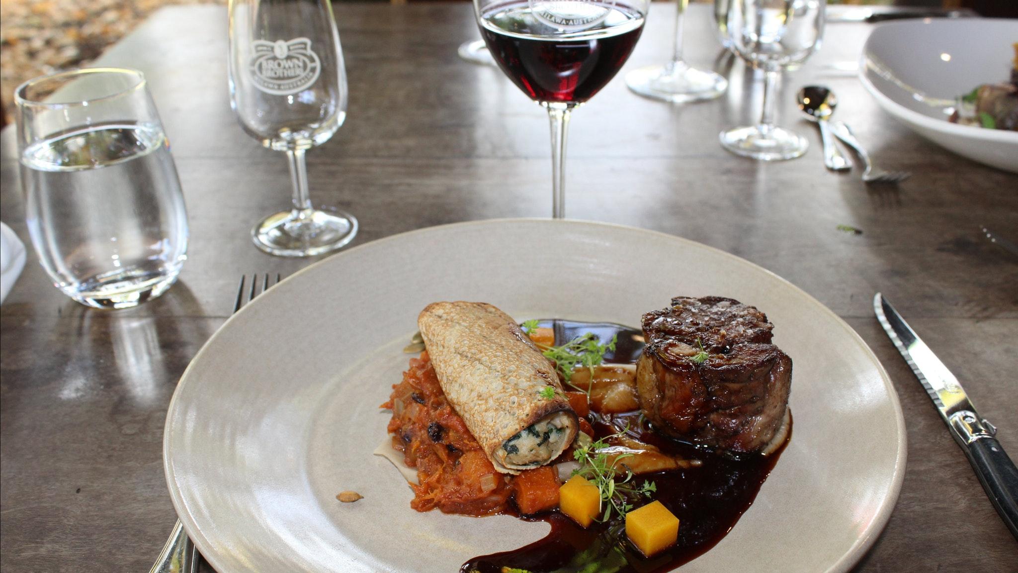 Luxury Limo, Gourmet Food & Wine Experience