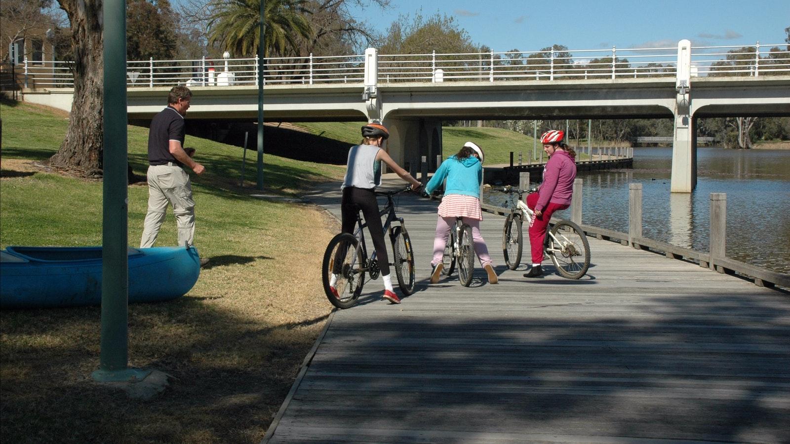Cycling Benalla