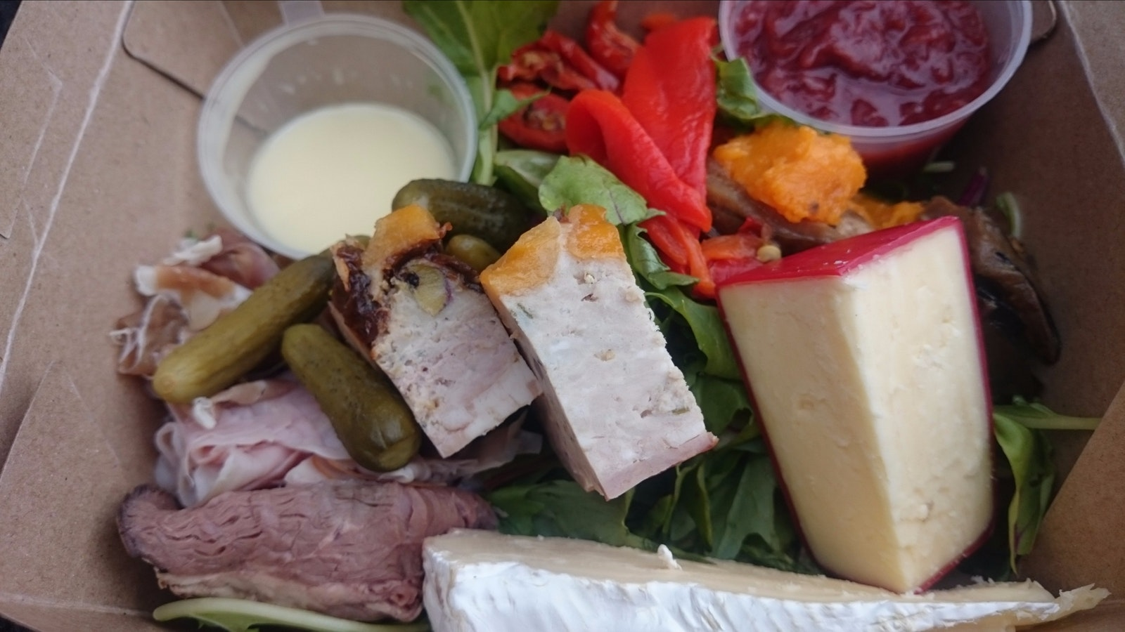 Ploughman's lunch from The Produce Store
