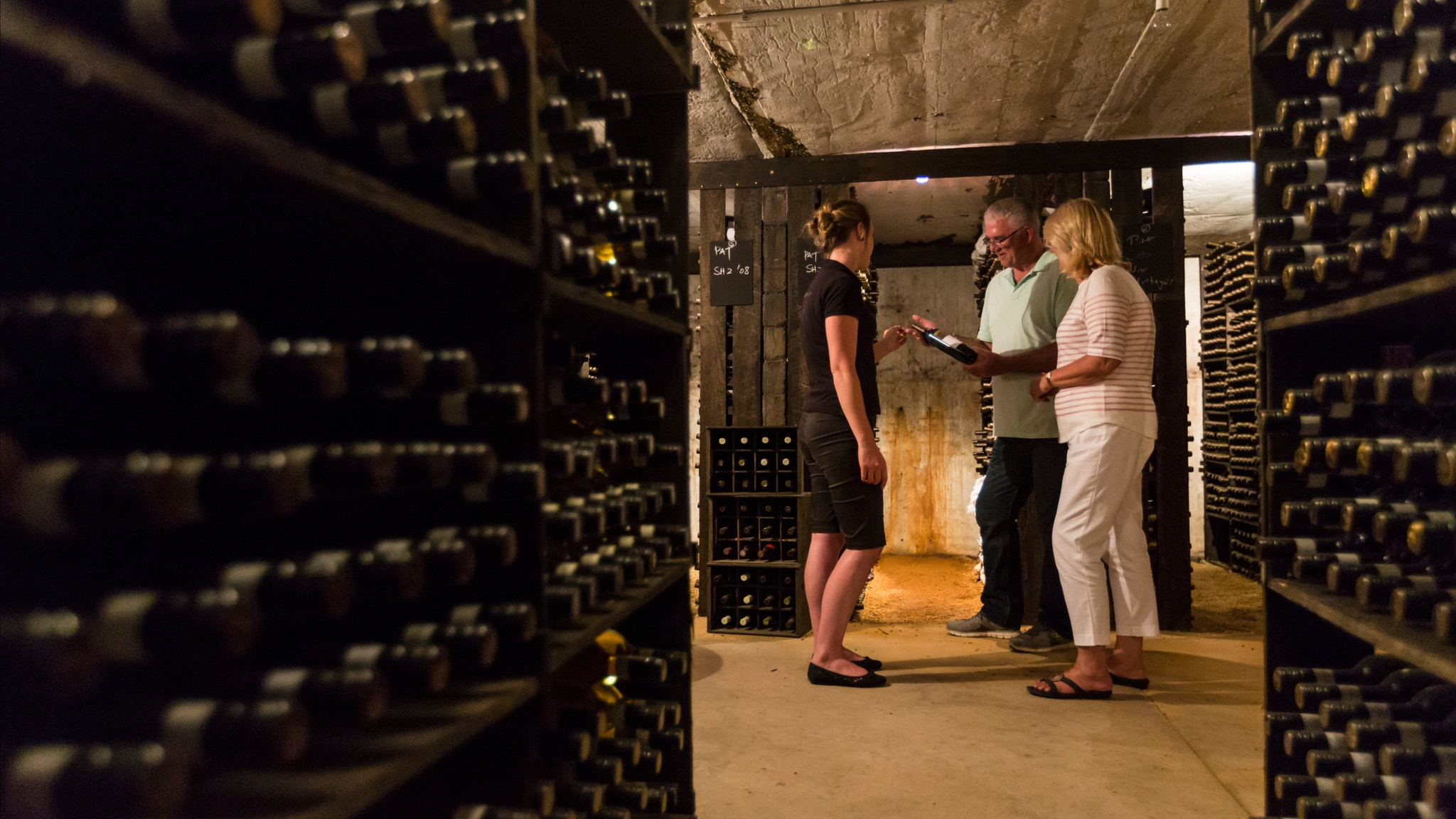 Family Cellar tour