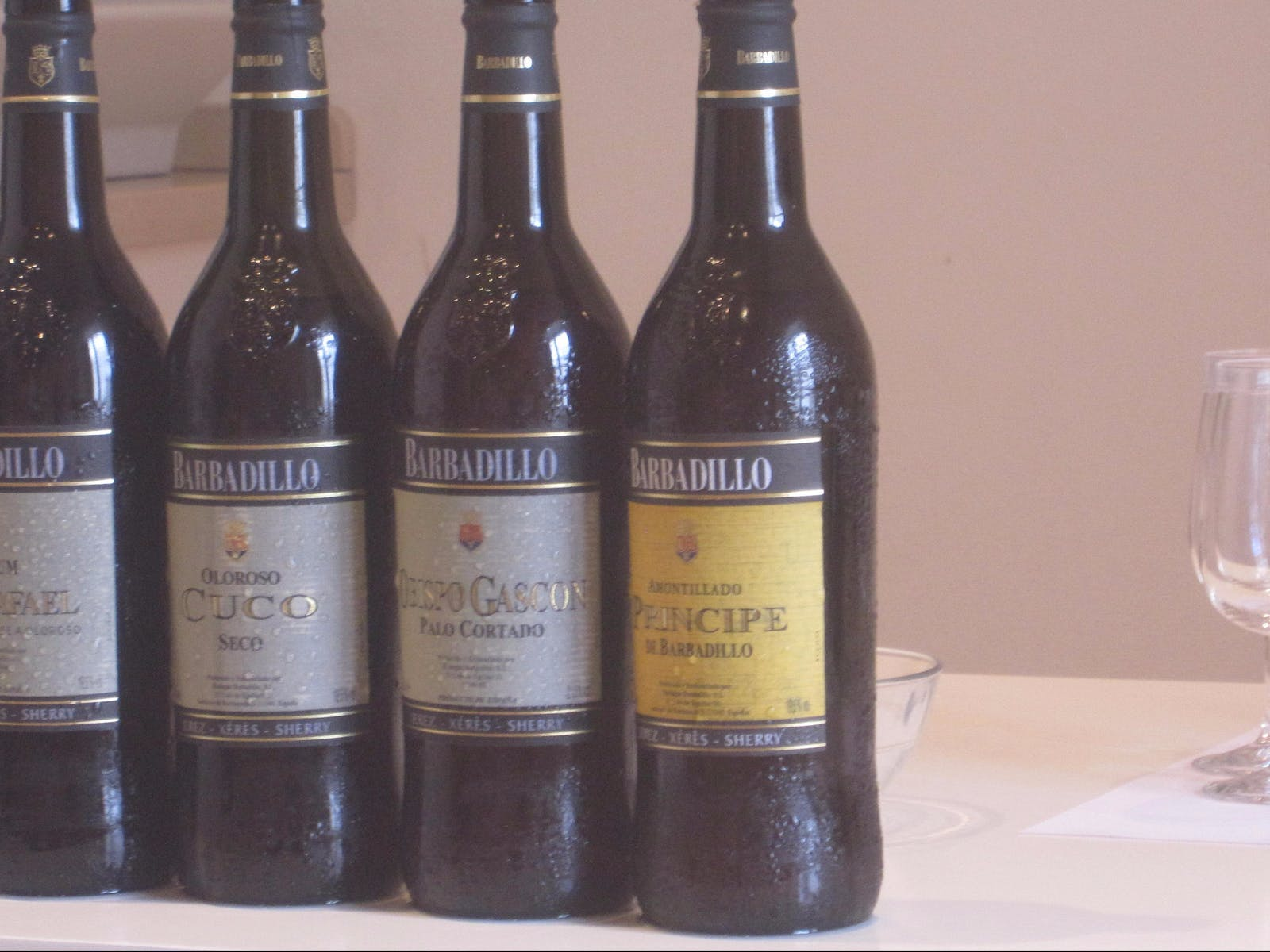 Wines from Sanlucar de Barrameda