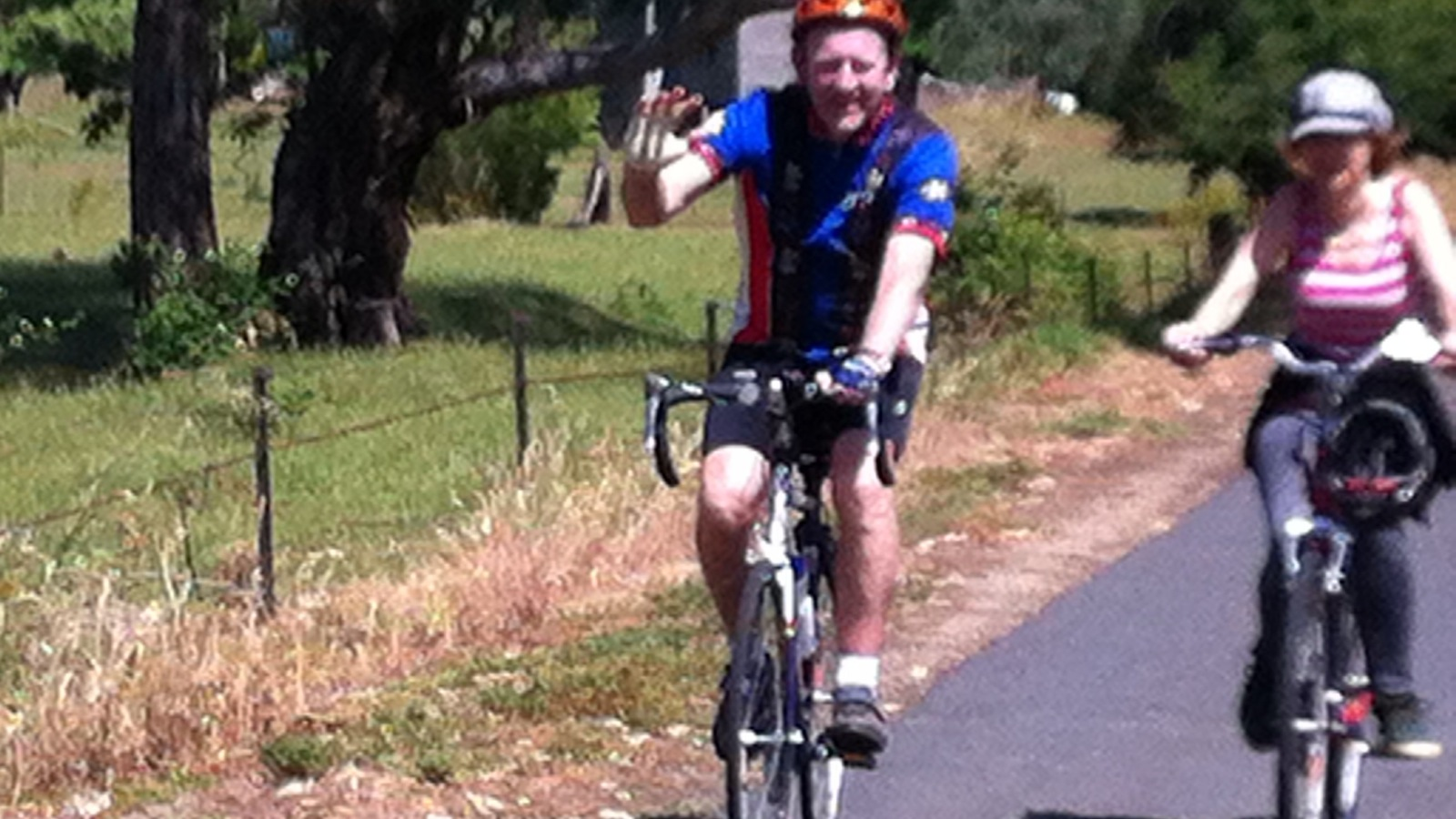 Cycling the Murray to Mountains Rail Trail
