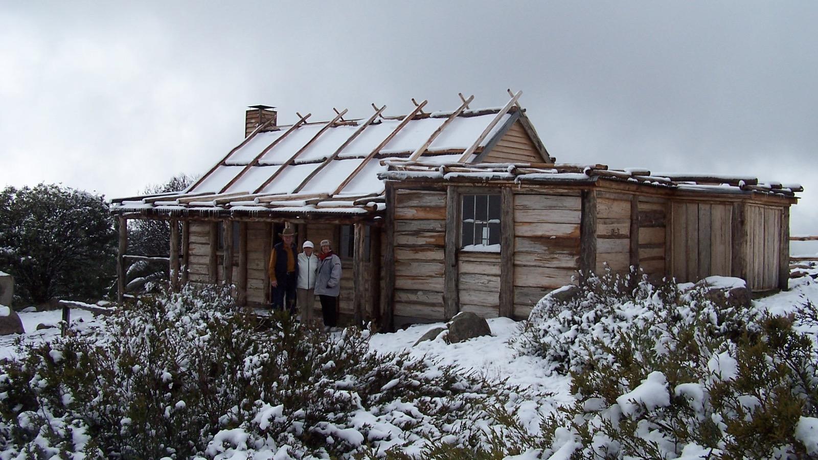 Craig's Hut Early winter