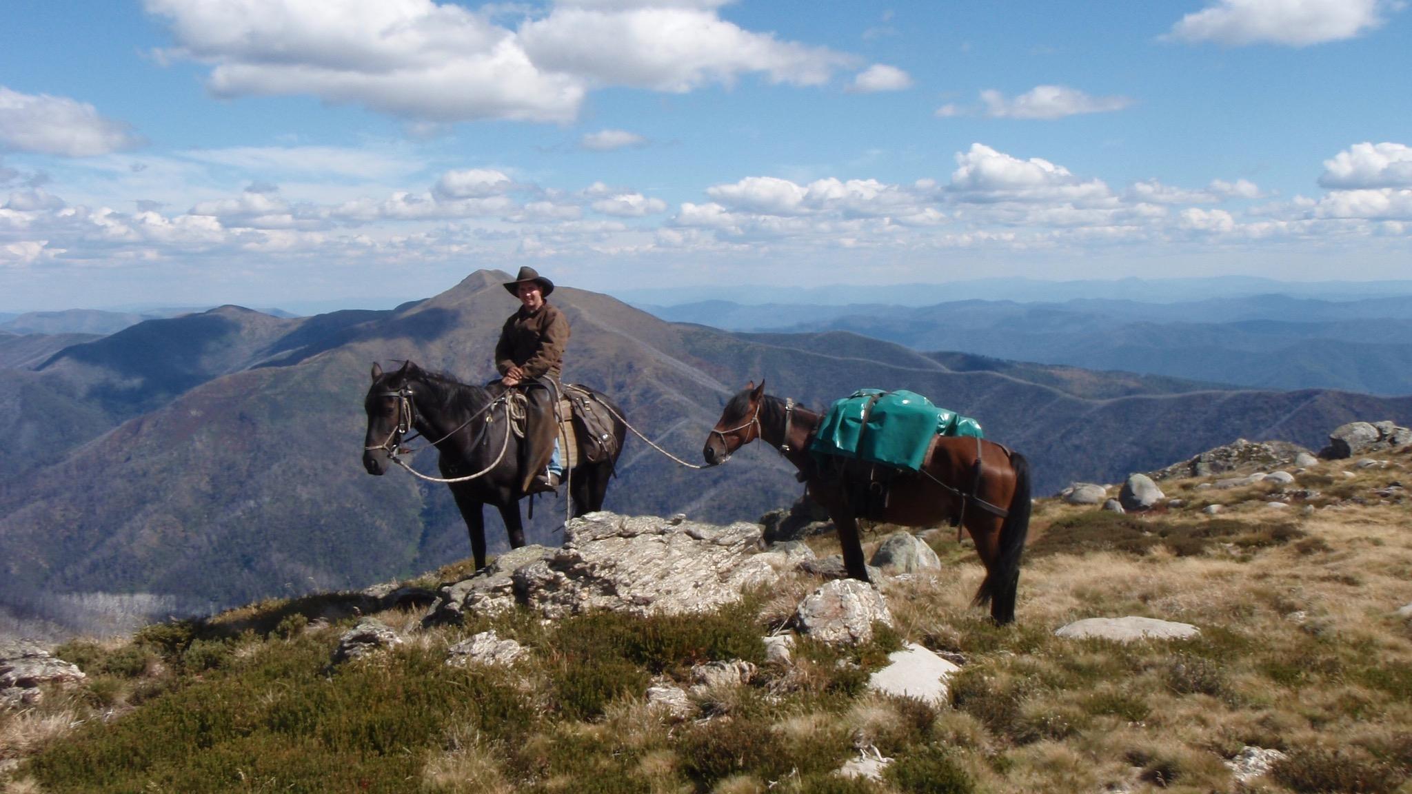 Clay Baird on Mount Fainter