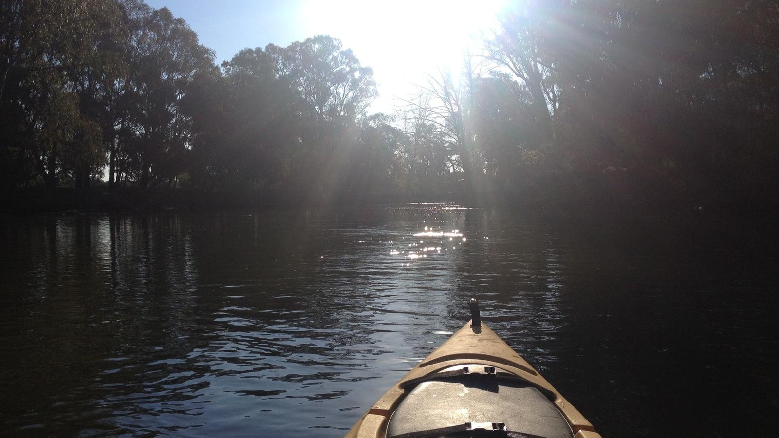 Ovens River kayak