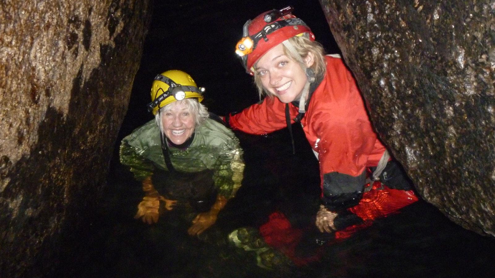 Underground River Caving Mt Buffao